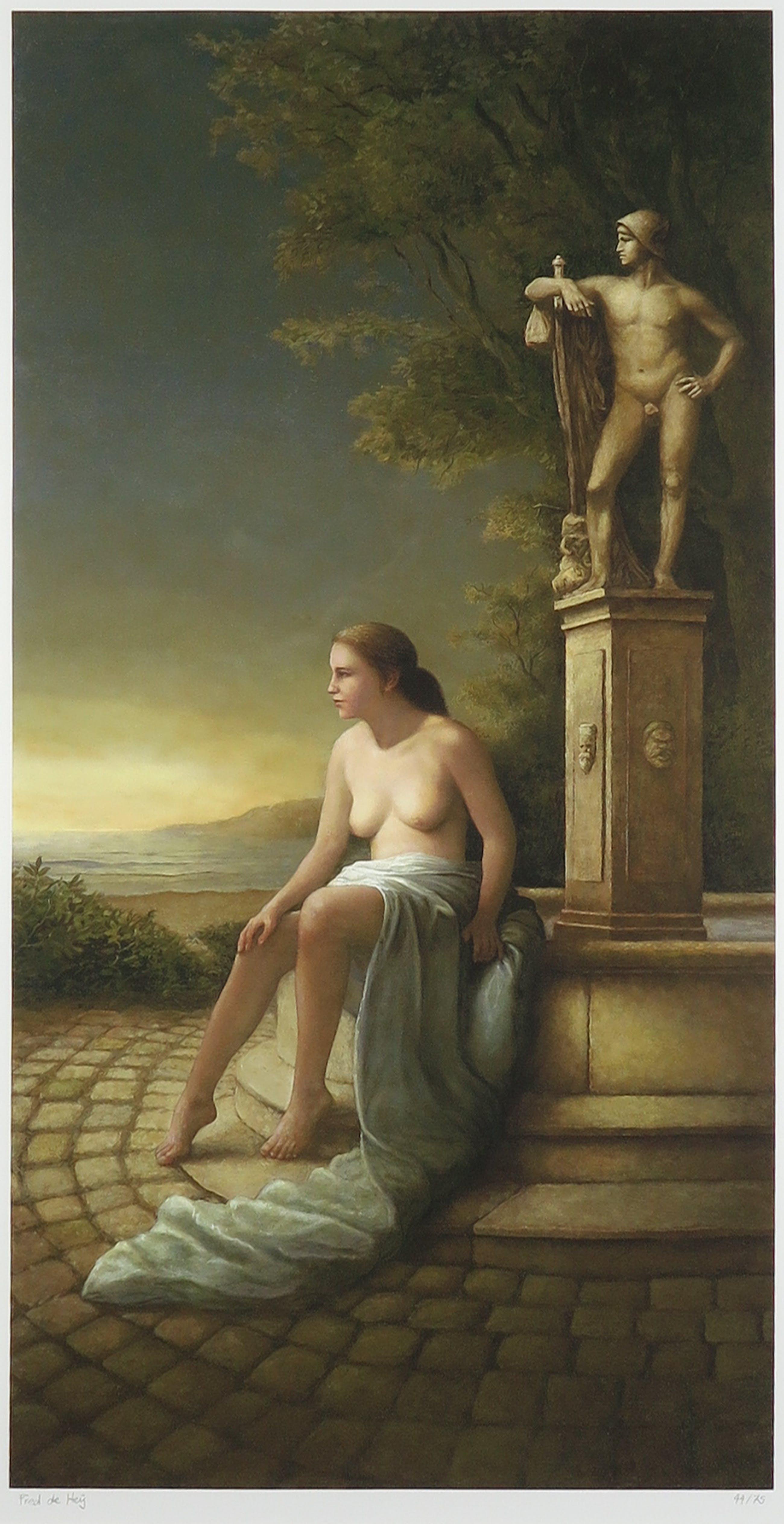 Fred de Heij - Giclee, Perseus - Ingelijst (Groot) kopen? Bied vanaf 40!