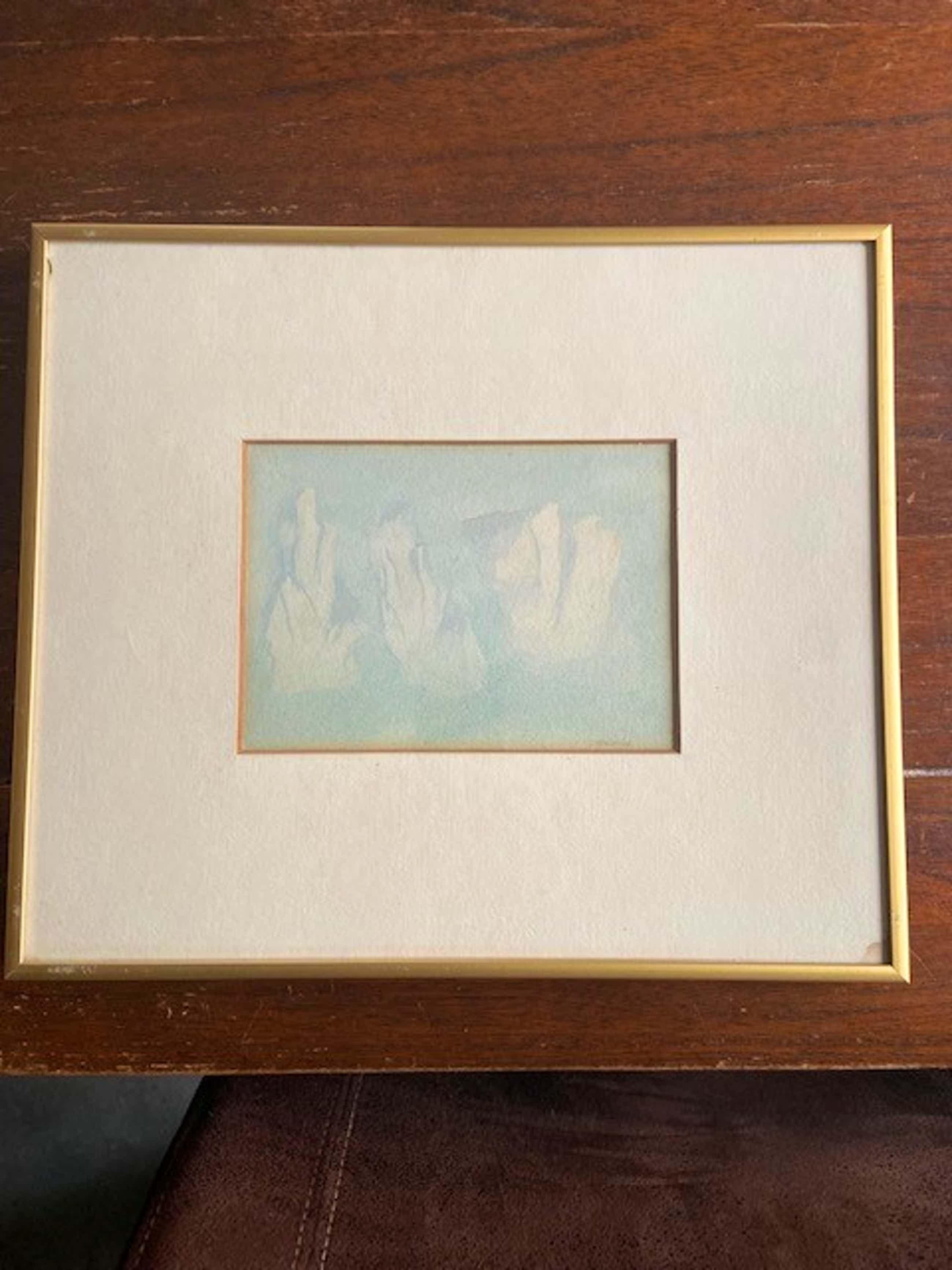 Hans Steggerda - 4 x aquarel kopen? Bied vanaf 100!