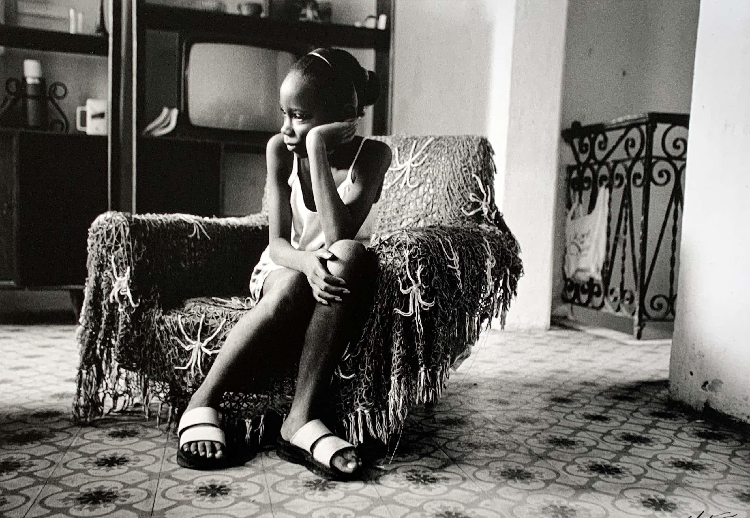 Nico Koster - handgesigneerde foto | 'Cubaanse meisje' | 1999 kopen? Bied vanaf 75!