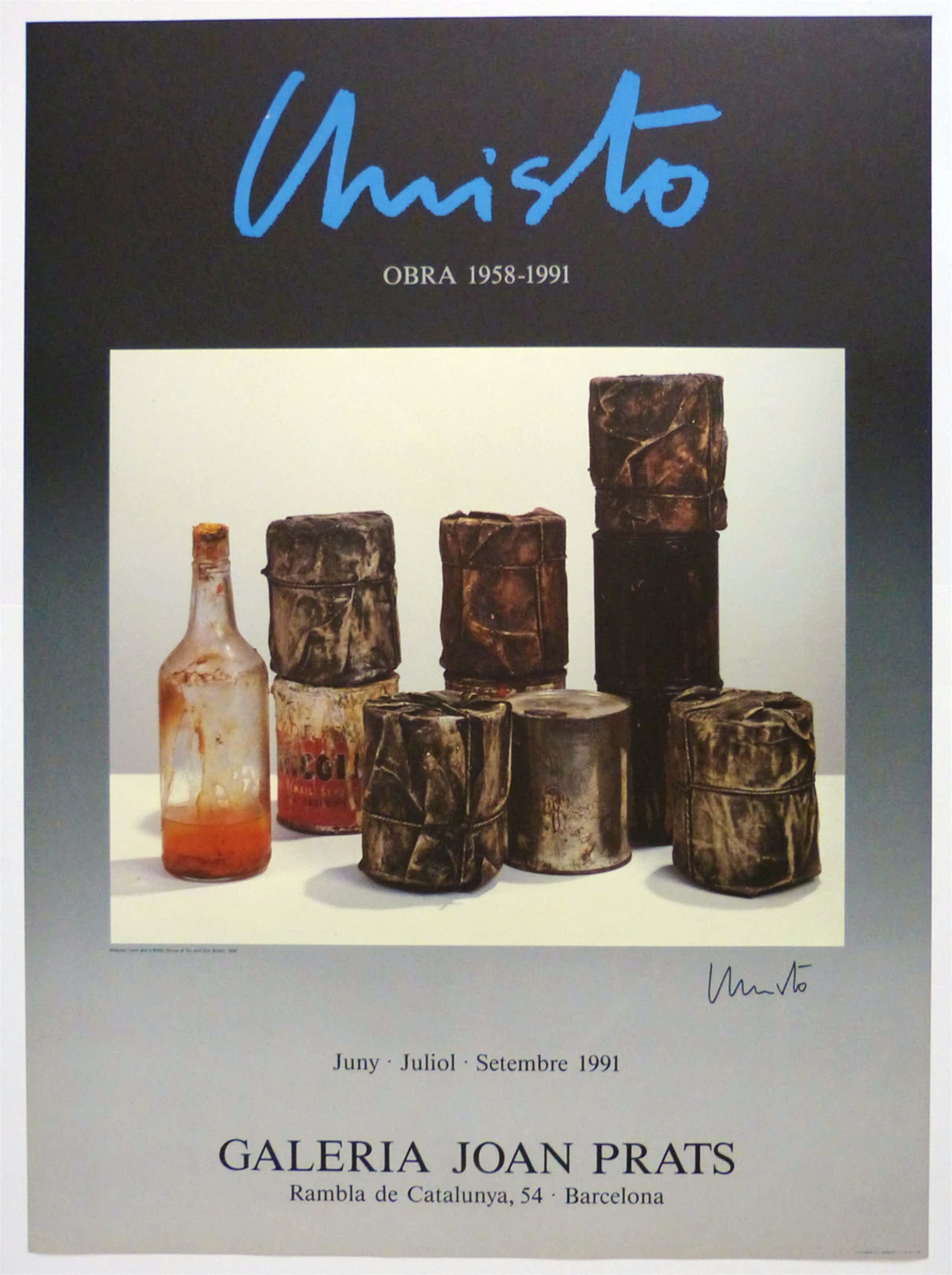 Christo - Bottle and Cans - Joan Prats Barcelona kopen? Bied vanaf 150!