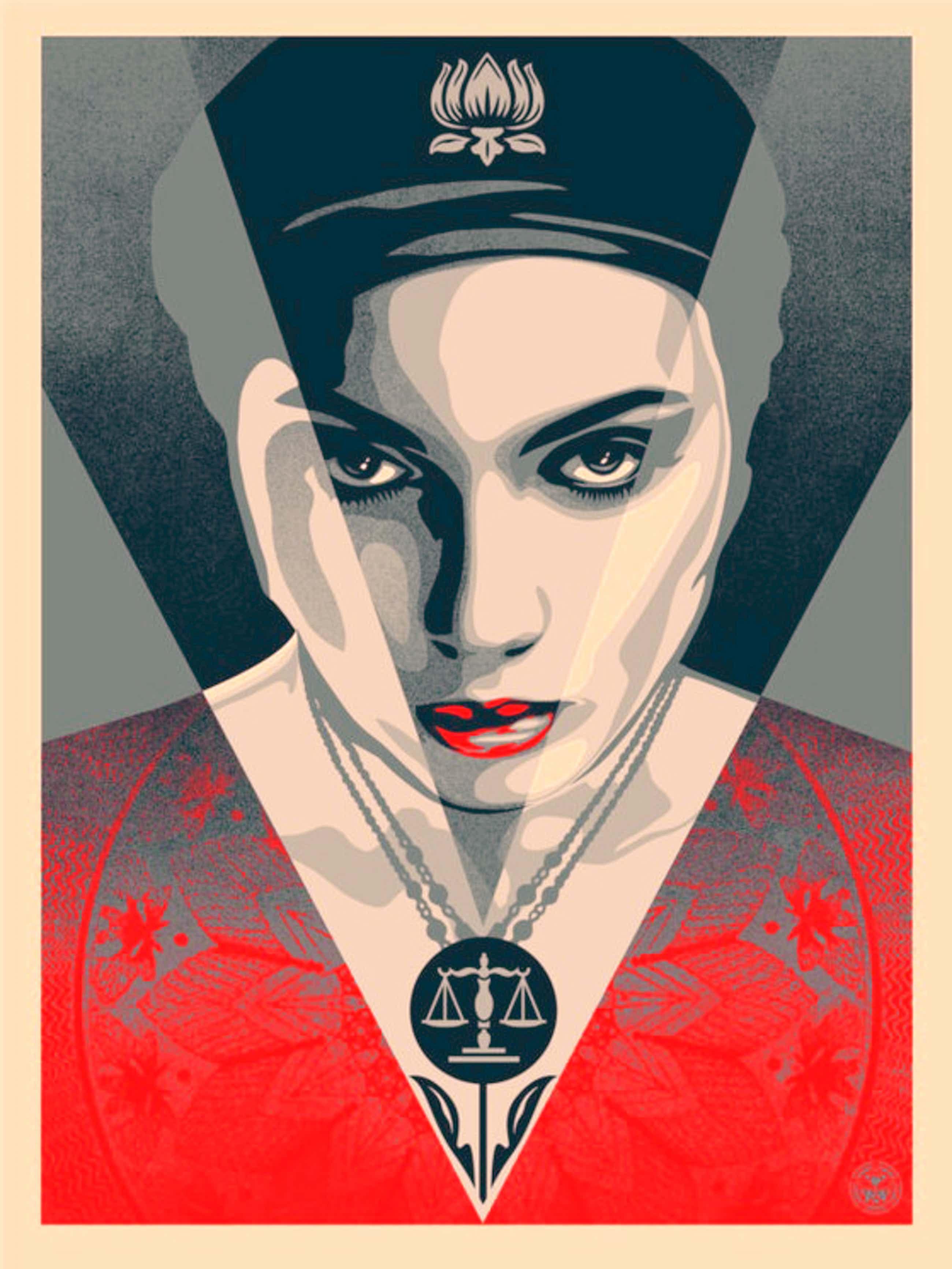 Shepard Fairey - Justice Woman kopen? Bied vanaf 325!