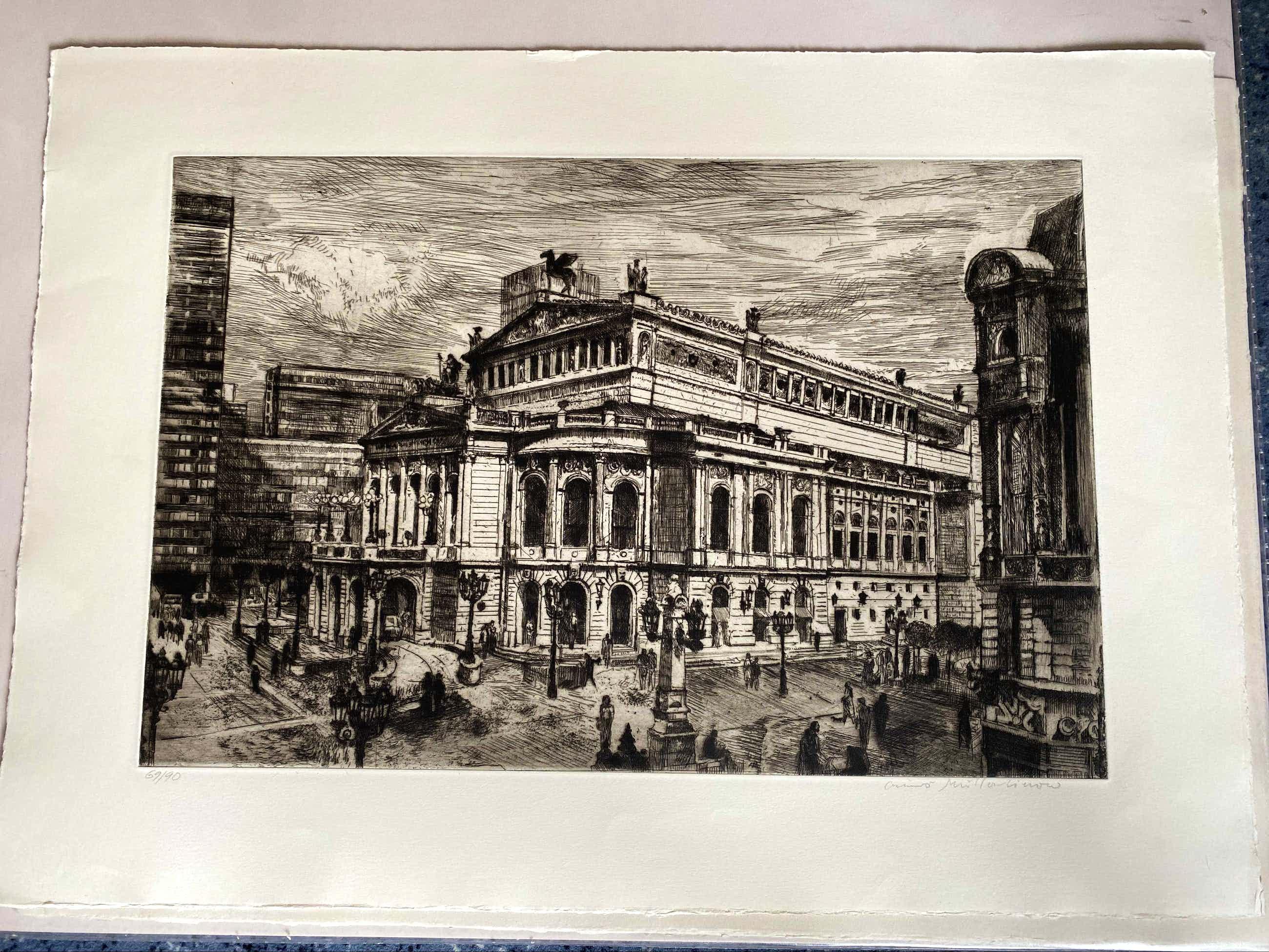 Bruno Müller-Linow - Alte Oper (Frankfurt) 1981 kopen? Bied vanaf 190!