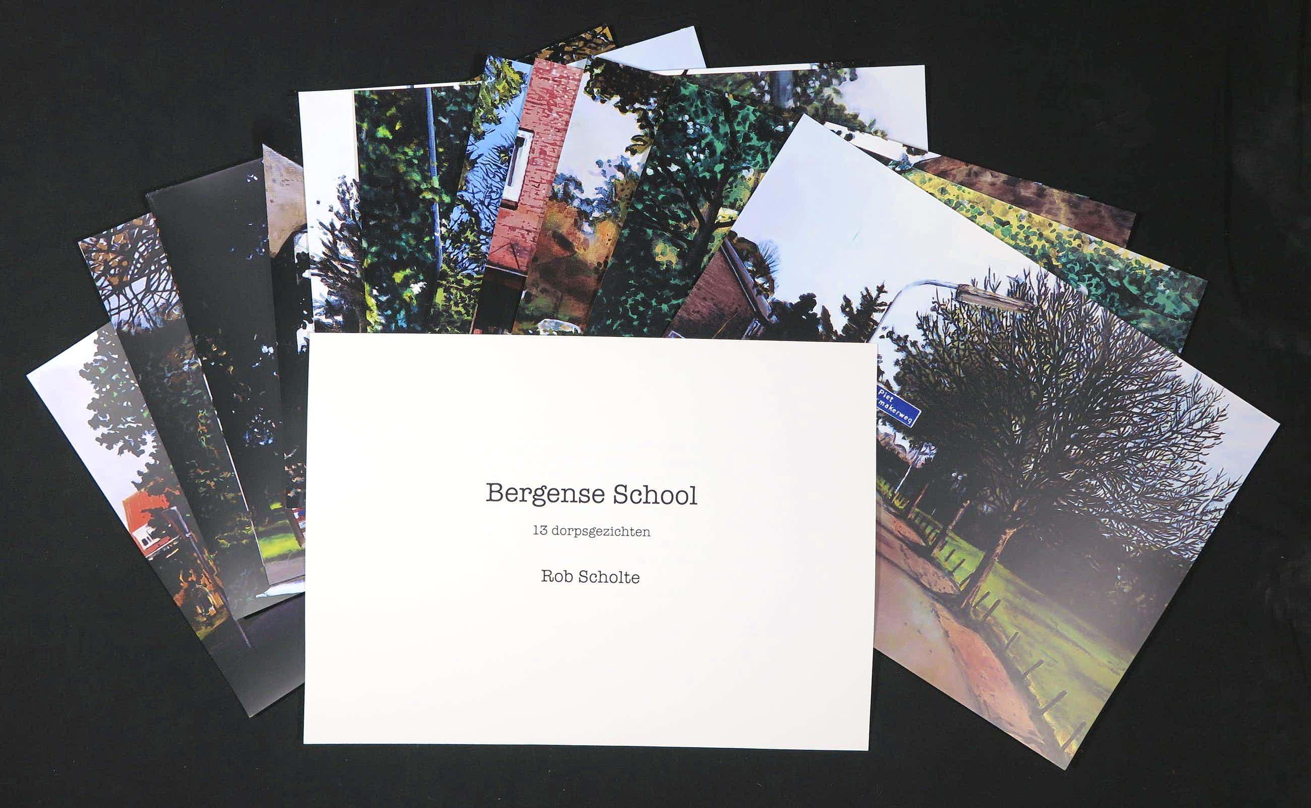 Rob Scholte - Zeefdrukken, Bergense school kopen? Bied vanaf 160!