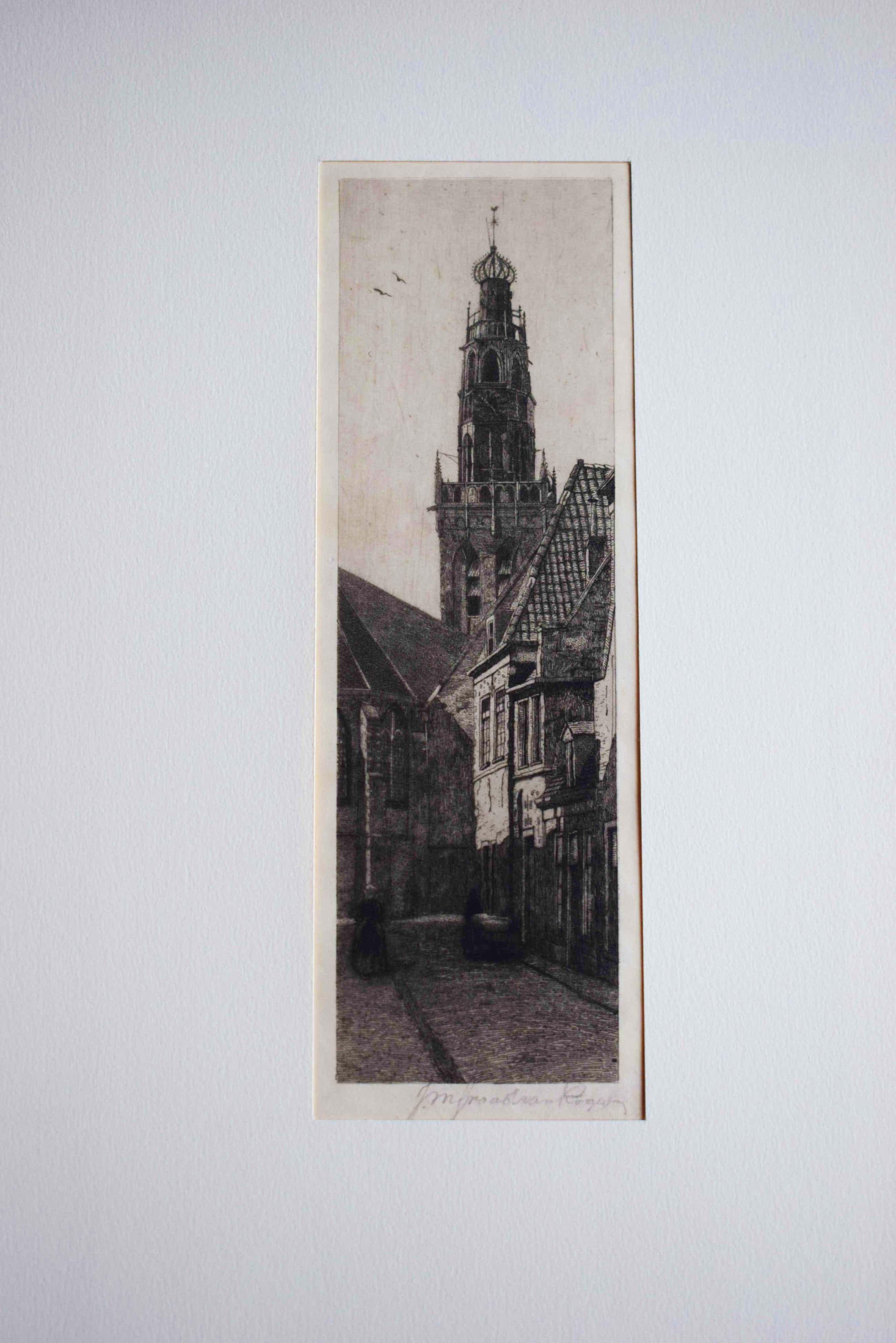 Johannes Graadt van Roggen - Bakenessertoren Haarlem kopen? Bied vanaf 100!