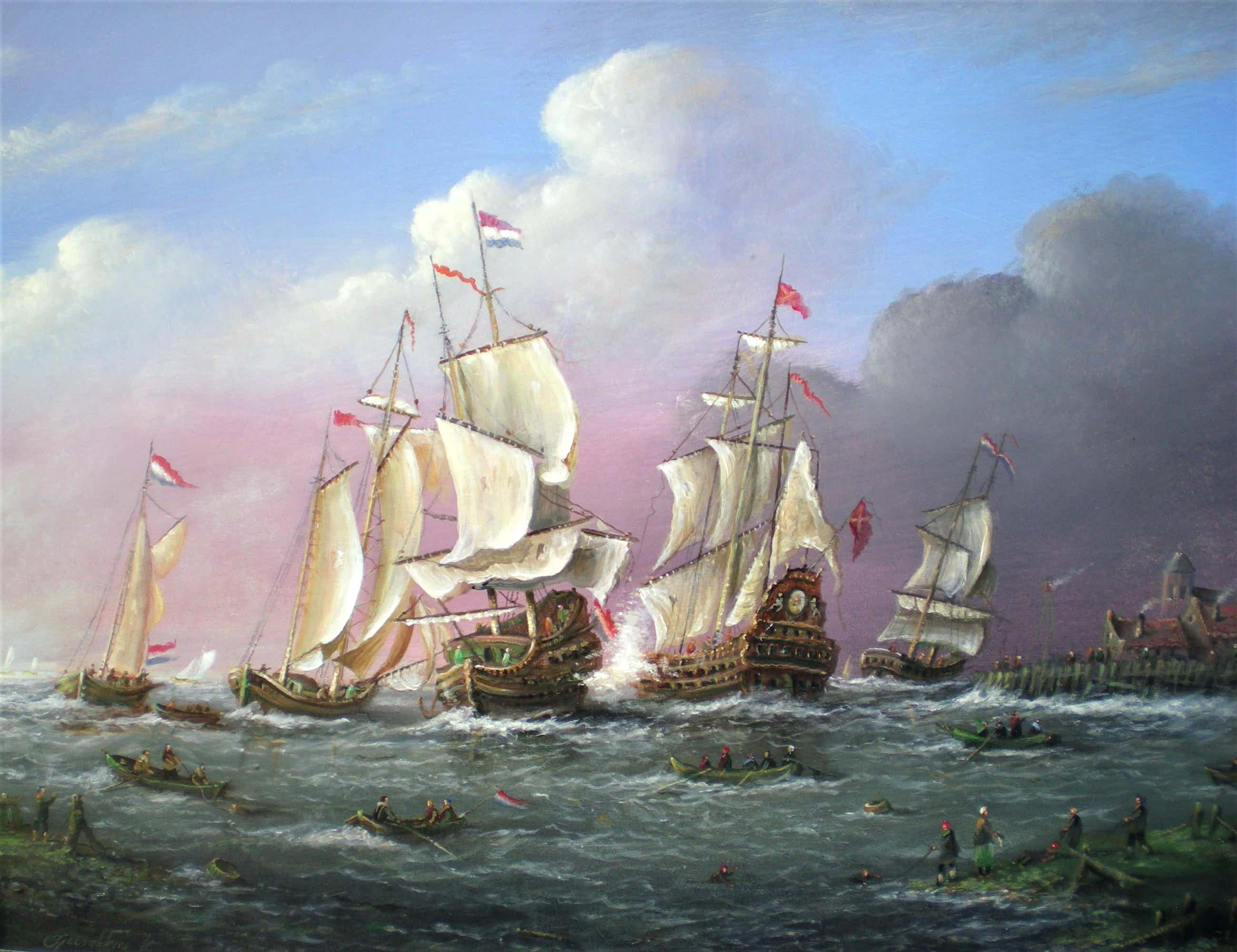 Thomas Heesakkers - Historische Zeeslag kopen? Bied vanaf 320!