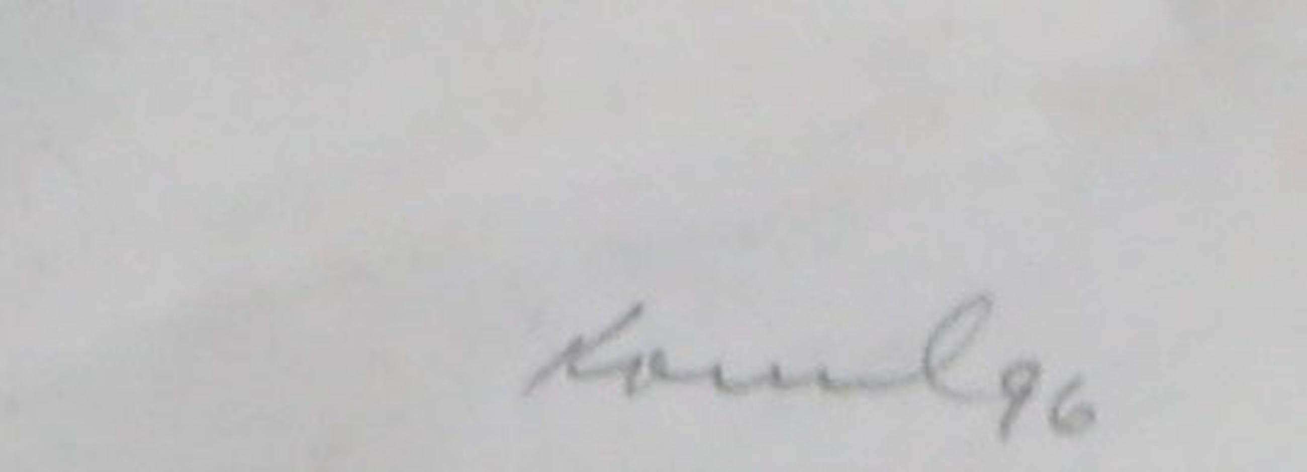 Bob Kovel - Gemengde techniek op papier, Zonder titel - Ingelijst kopen? Bied vanaf 20!