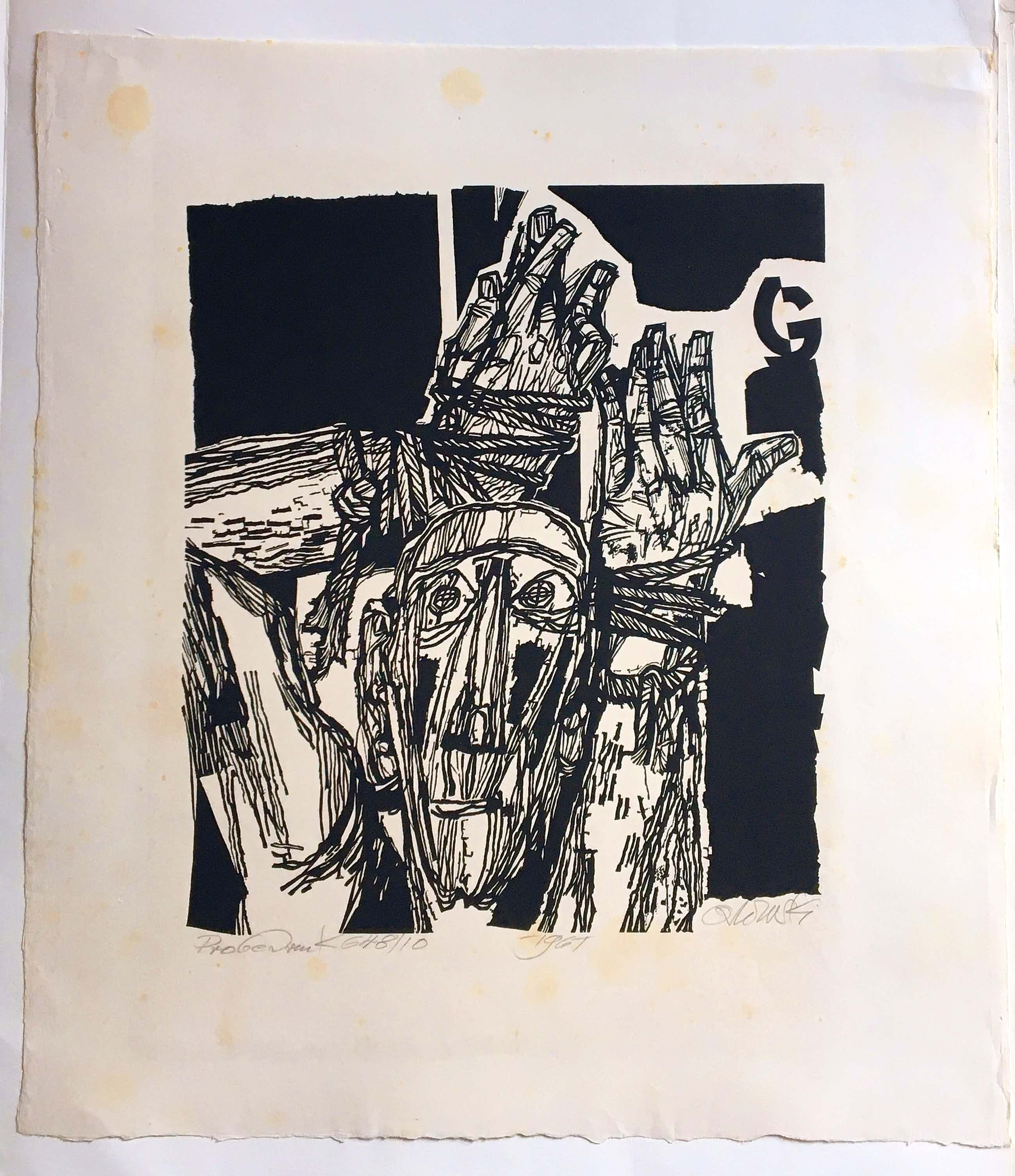 Hans Orlowski - Ohne Titel, 1961 kopen? Bied vanaf 65!