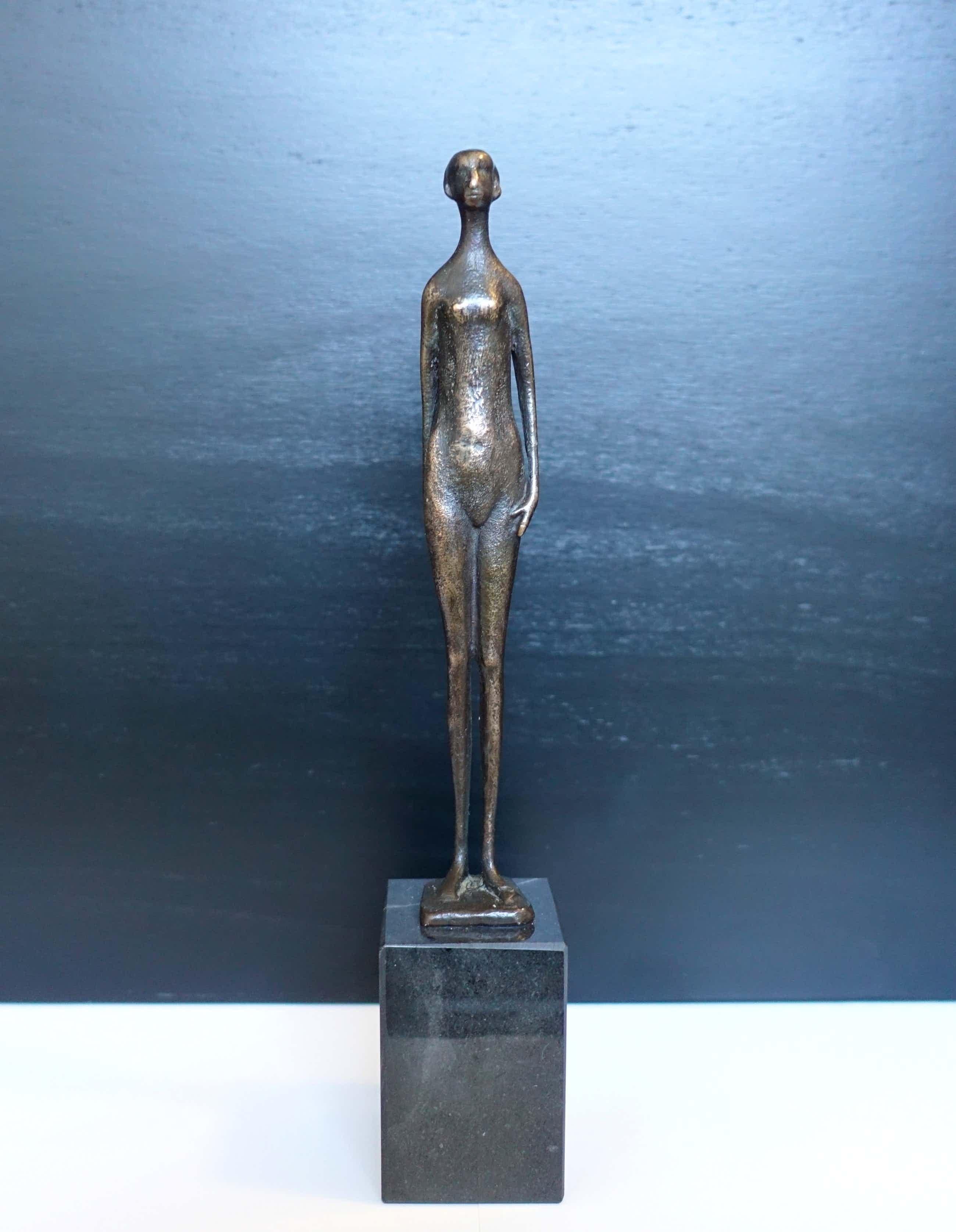 Piet van Heerden - Zeer fraai bronzen beeldje kopen? Bied vanaf 400!