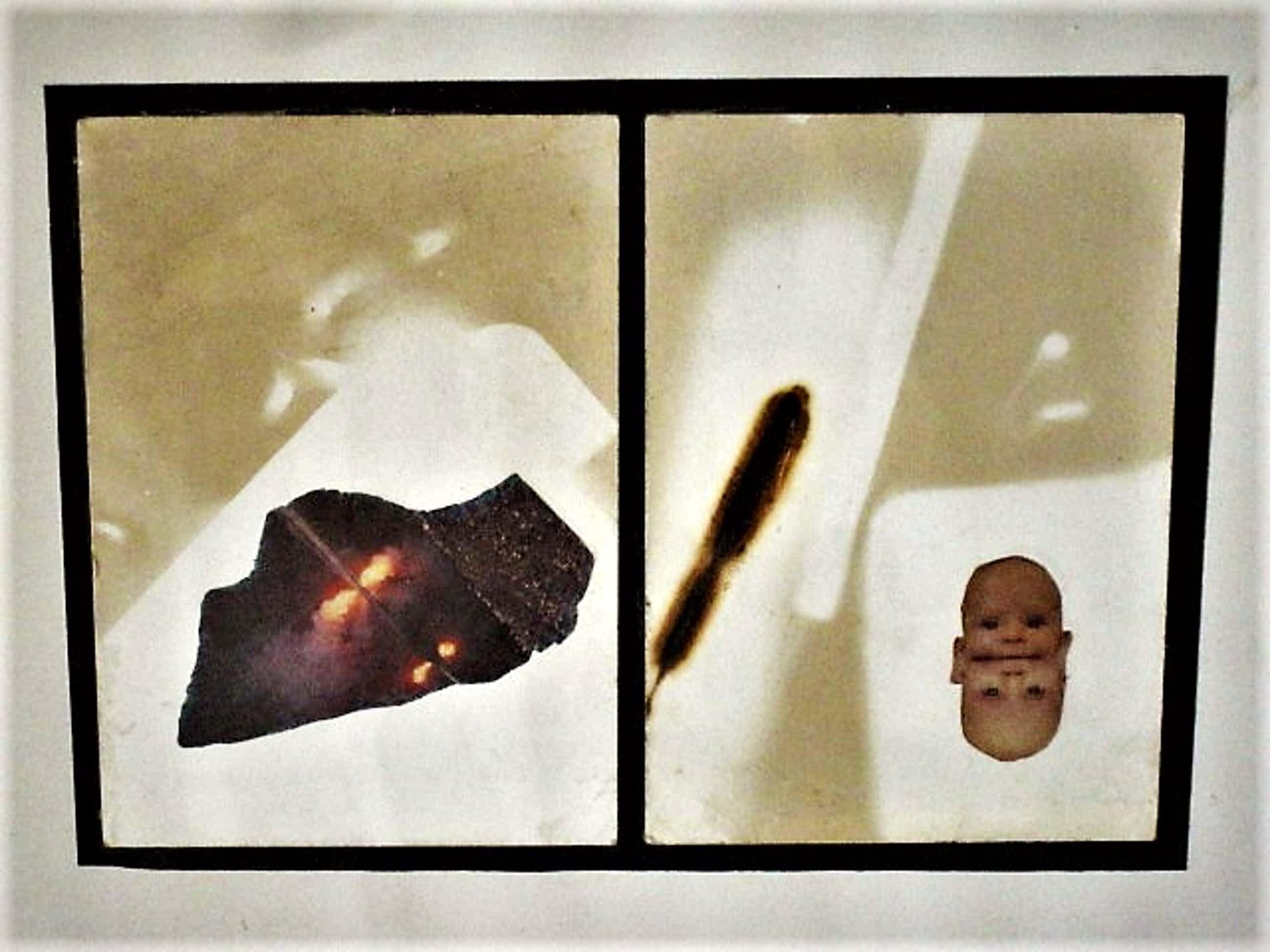 Jan G. Elburg - Vijftiger - CoBrA - Surrealist - Originele COLLAGE - 1990 - gesigneerd kopen? Bied vanaf 67!