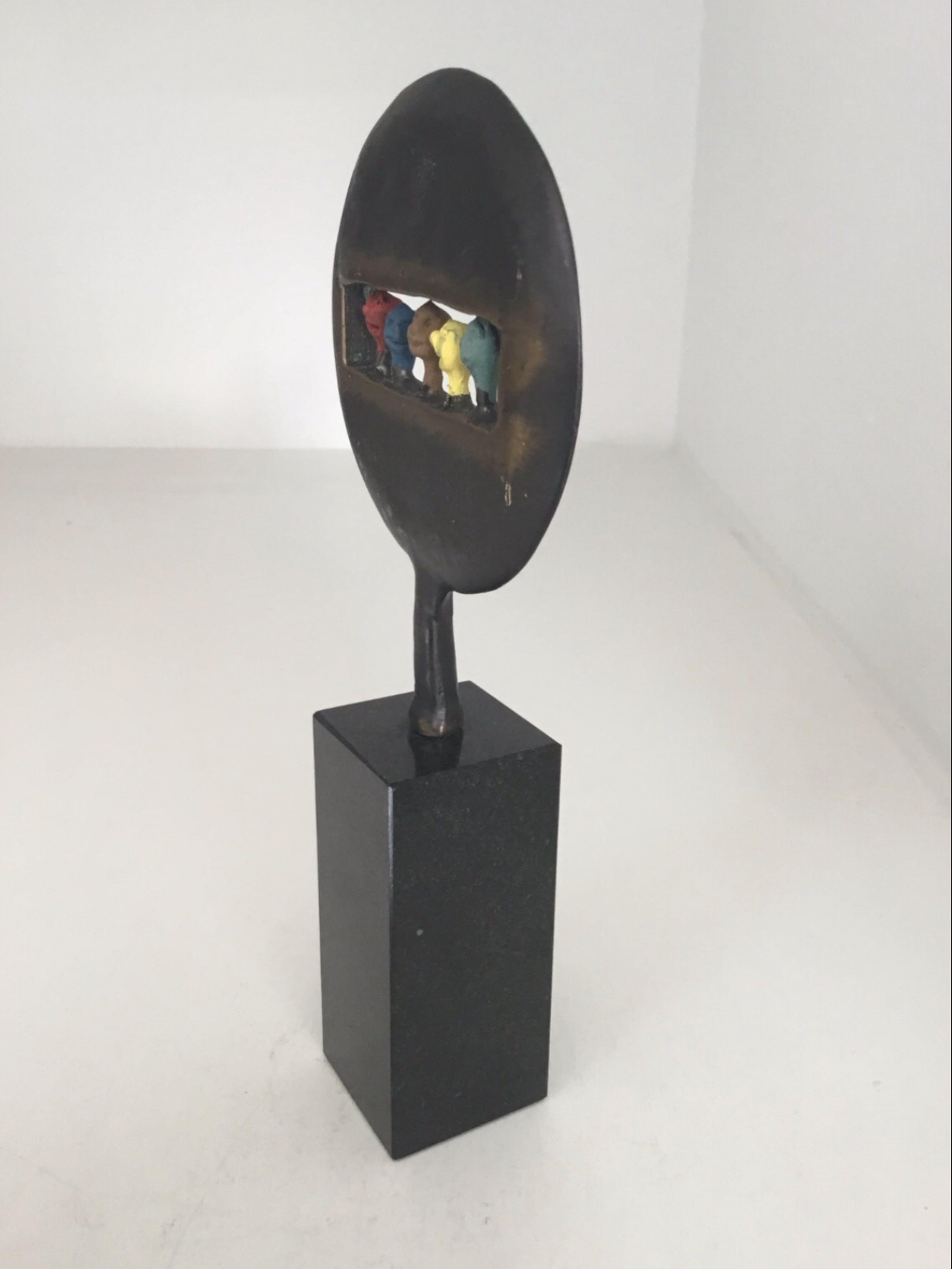 """Corry Ammerlaan - Sculptuur """" Kijk in de toekomst ! """" kopen? Bied vanaf 75!"""