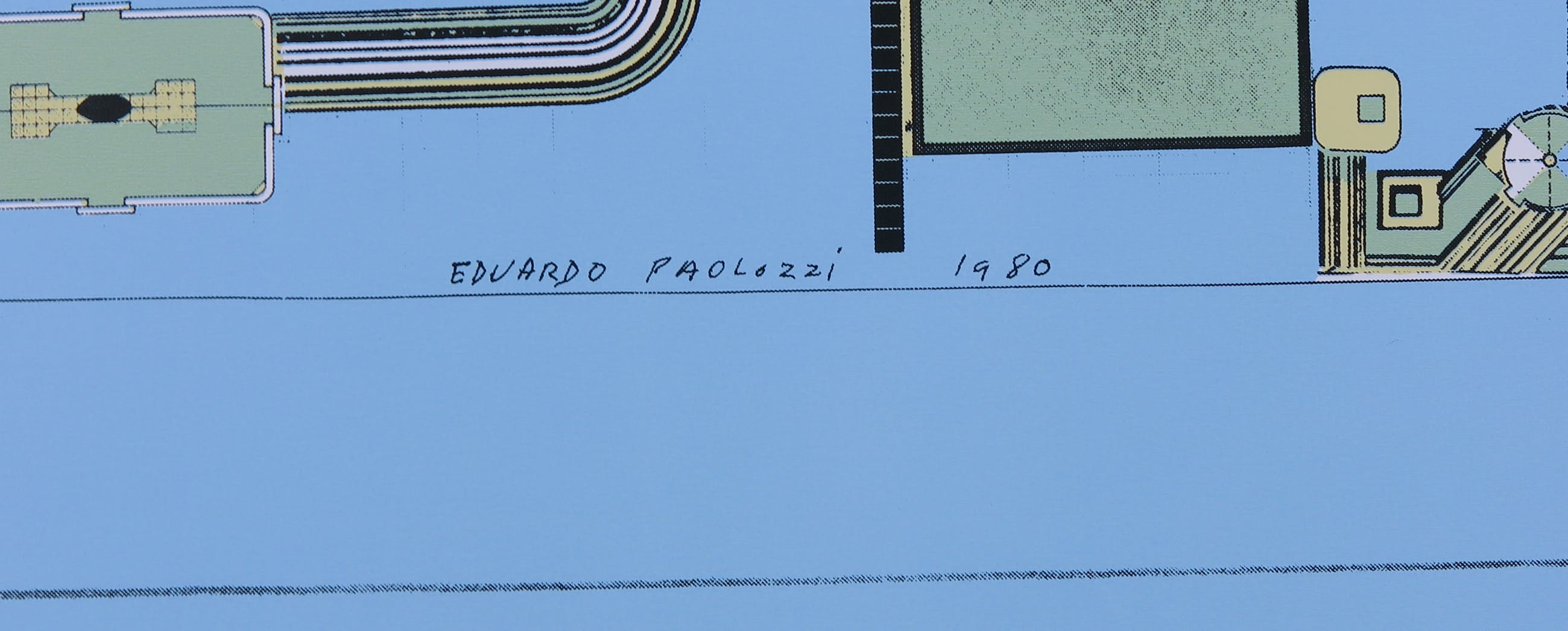 Eduardo Paolozzi - Offset, Zonder titel kopen? Bied vanaf 1!