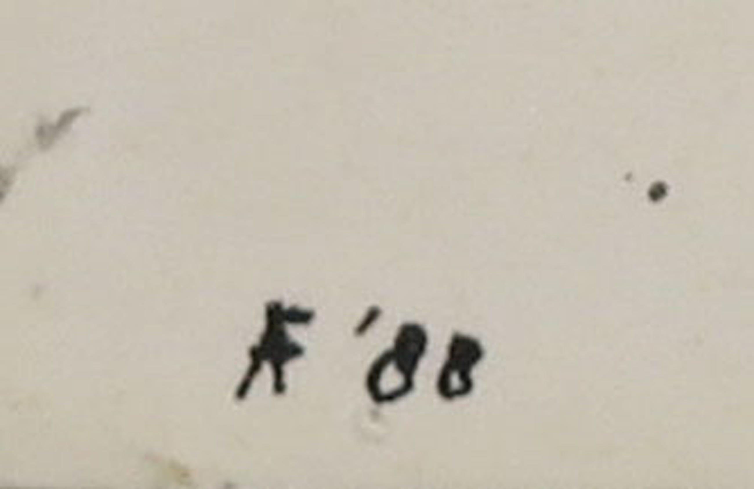 Alphons Freijmuth - Gemengde techniek op papier, Abstracte compositie kopen? Bied vanaf 150!