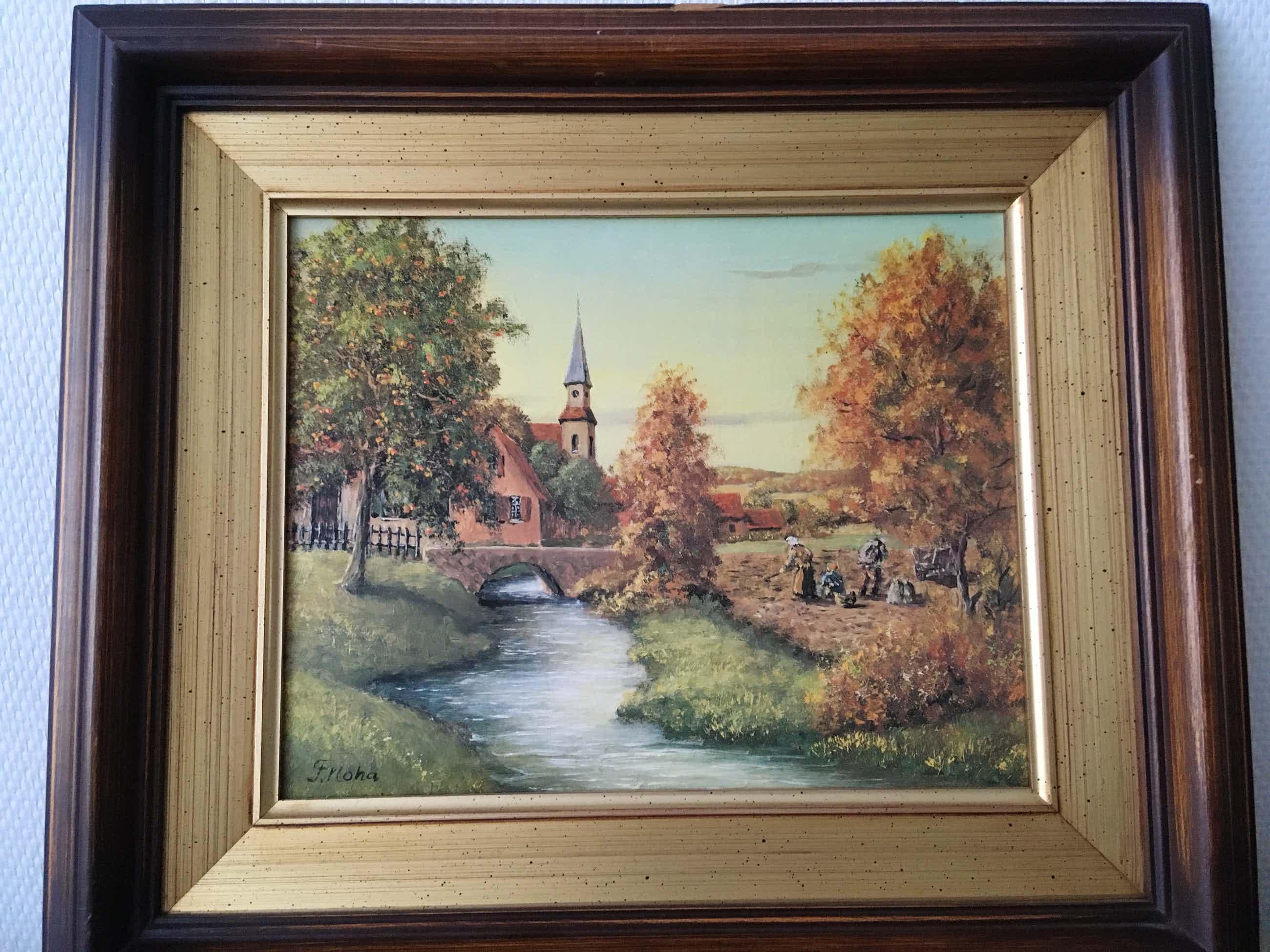 Franz Josef Noha - Olieverf schilderij kopen? Bied vanaf 50!