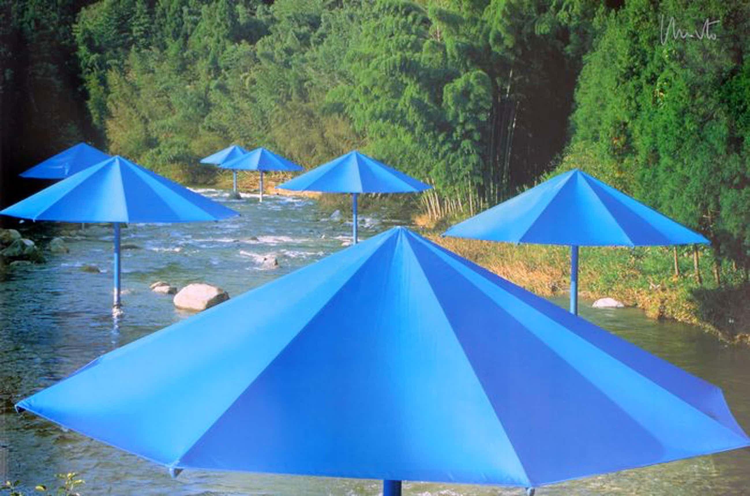 Christo - The Umbrellas - Handgesigneerd - Japan 1991 (Groot) kopen? Bied vanaf 420!