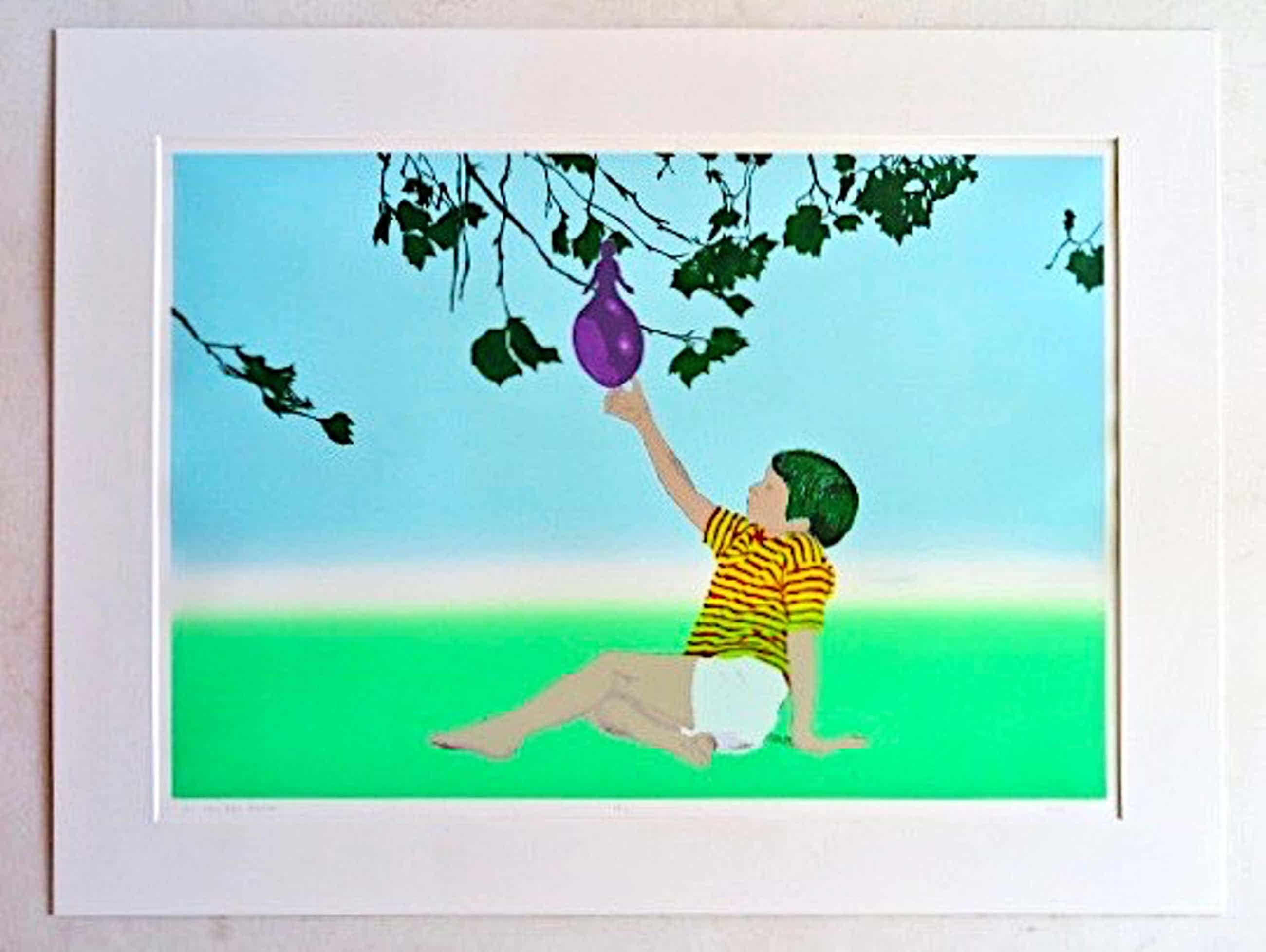 Jos van der Sommen - Later - Surrealistische Kleurenlitho kopen? Bied vanaf 1!