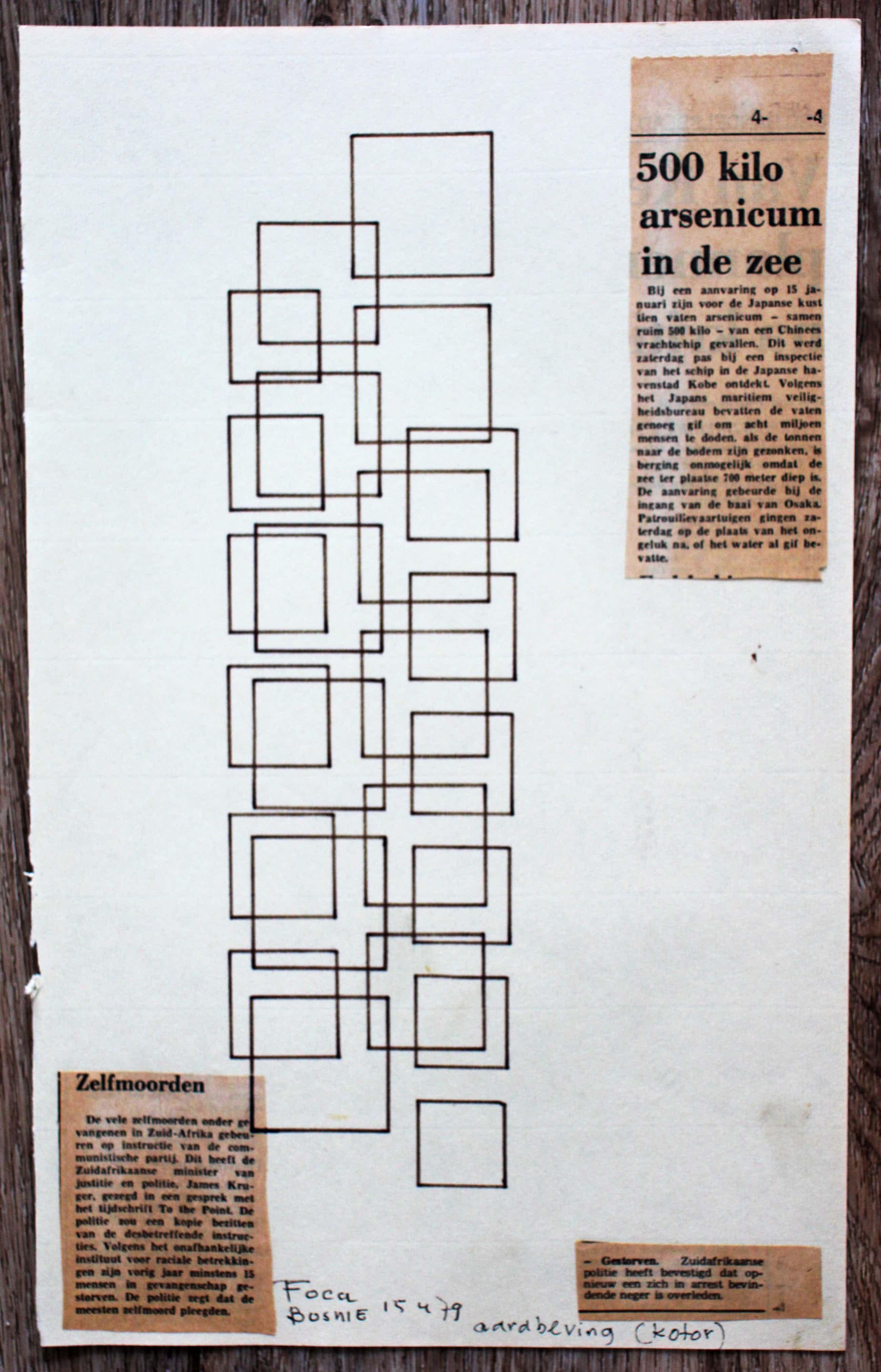 Siep van den Berg - Collage: Foca Bosnie - ongesigneerd - 1979 kopen? Bied vanaf 55!