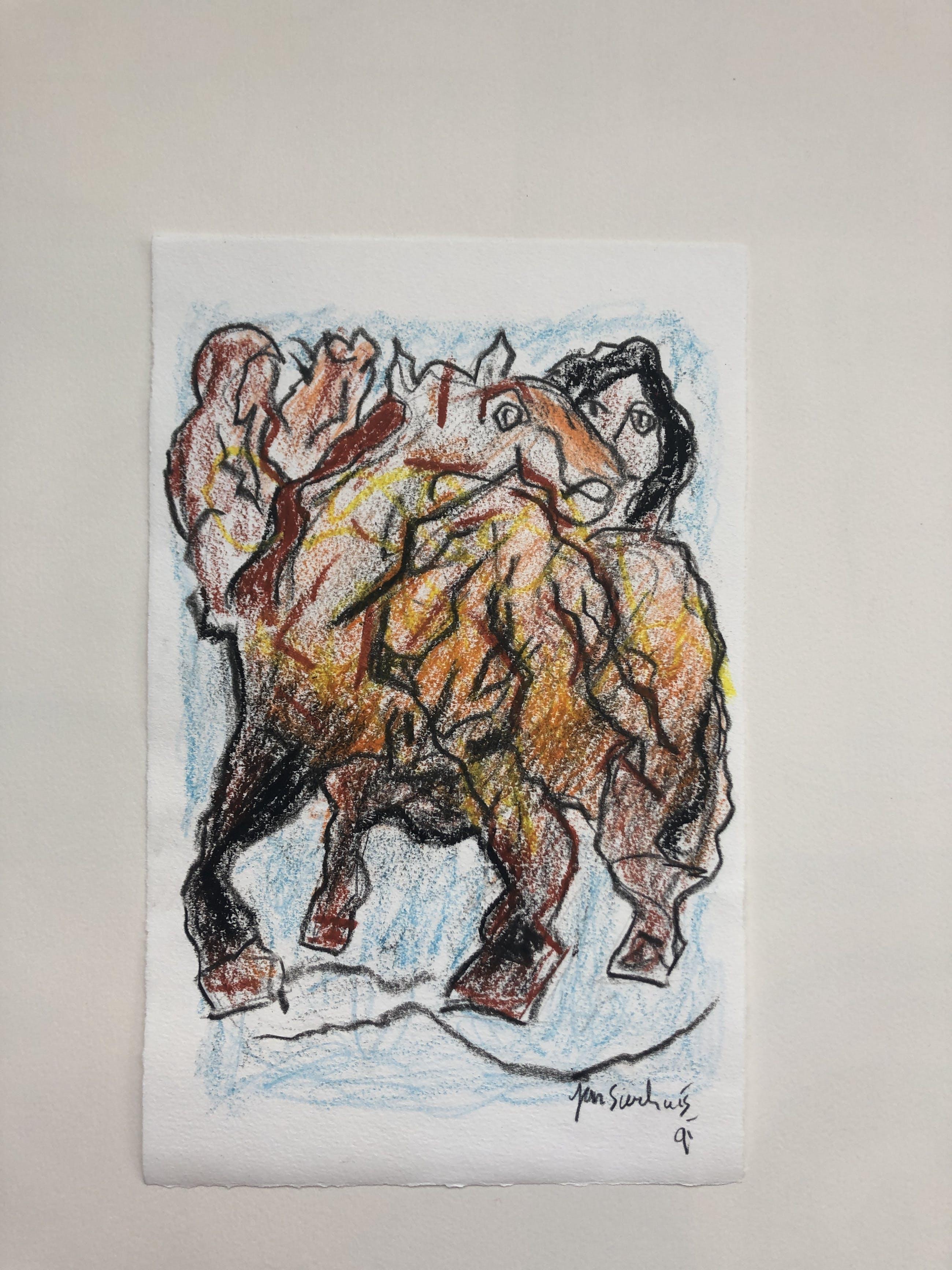 Jan Sierhuis - Vrouw met paard kopen? Bied vanaf 185!