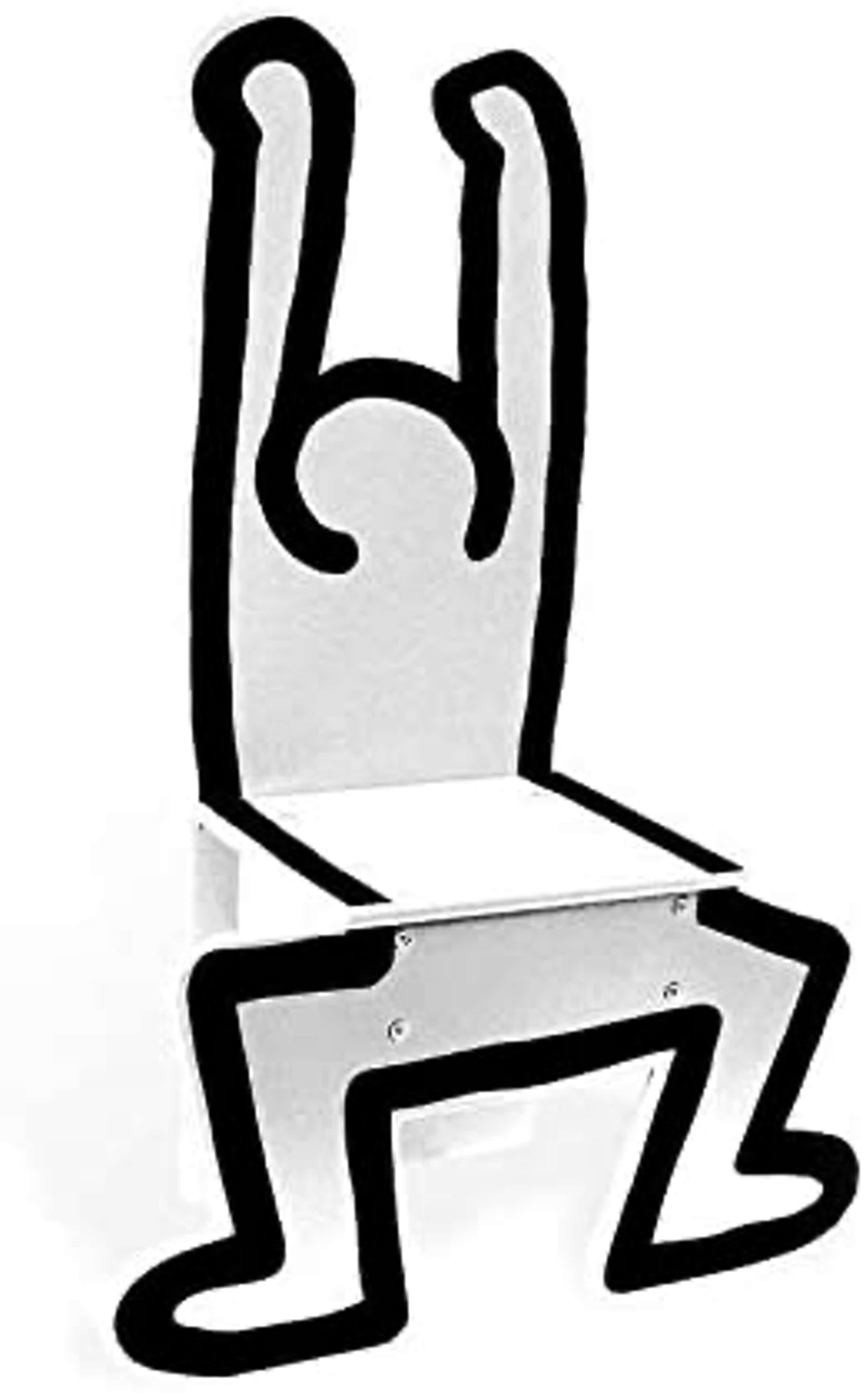 Keith Haring - Childrens Chair / Decorational Object White by Vilac kopen? Bied vanaf 140!
