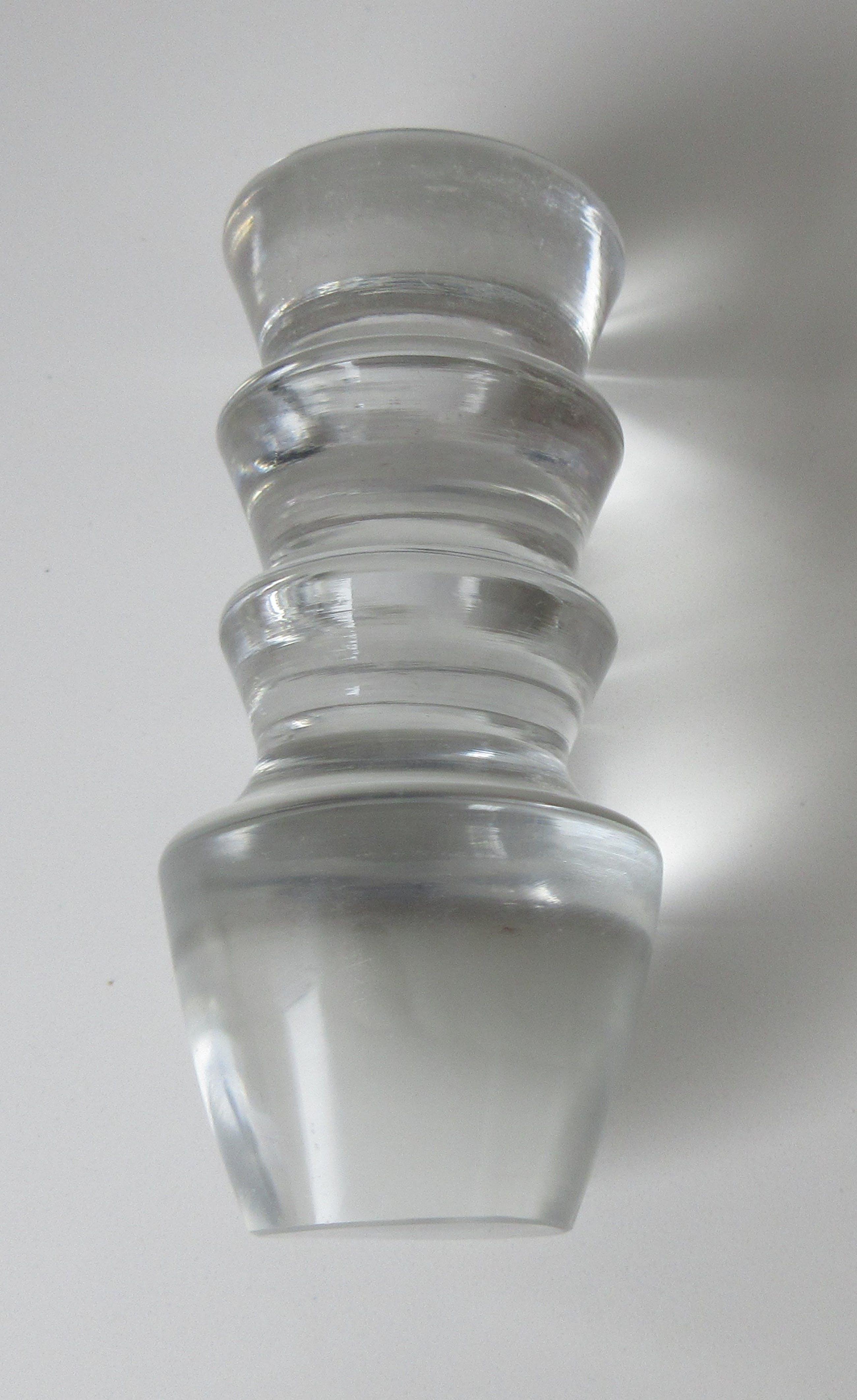 Niet of onleesbaar gesigneerd - Grote art deco modernistische kristallen karaf kopen? Bied vanaf 10!