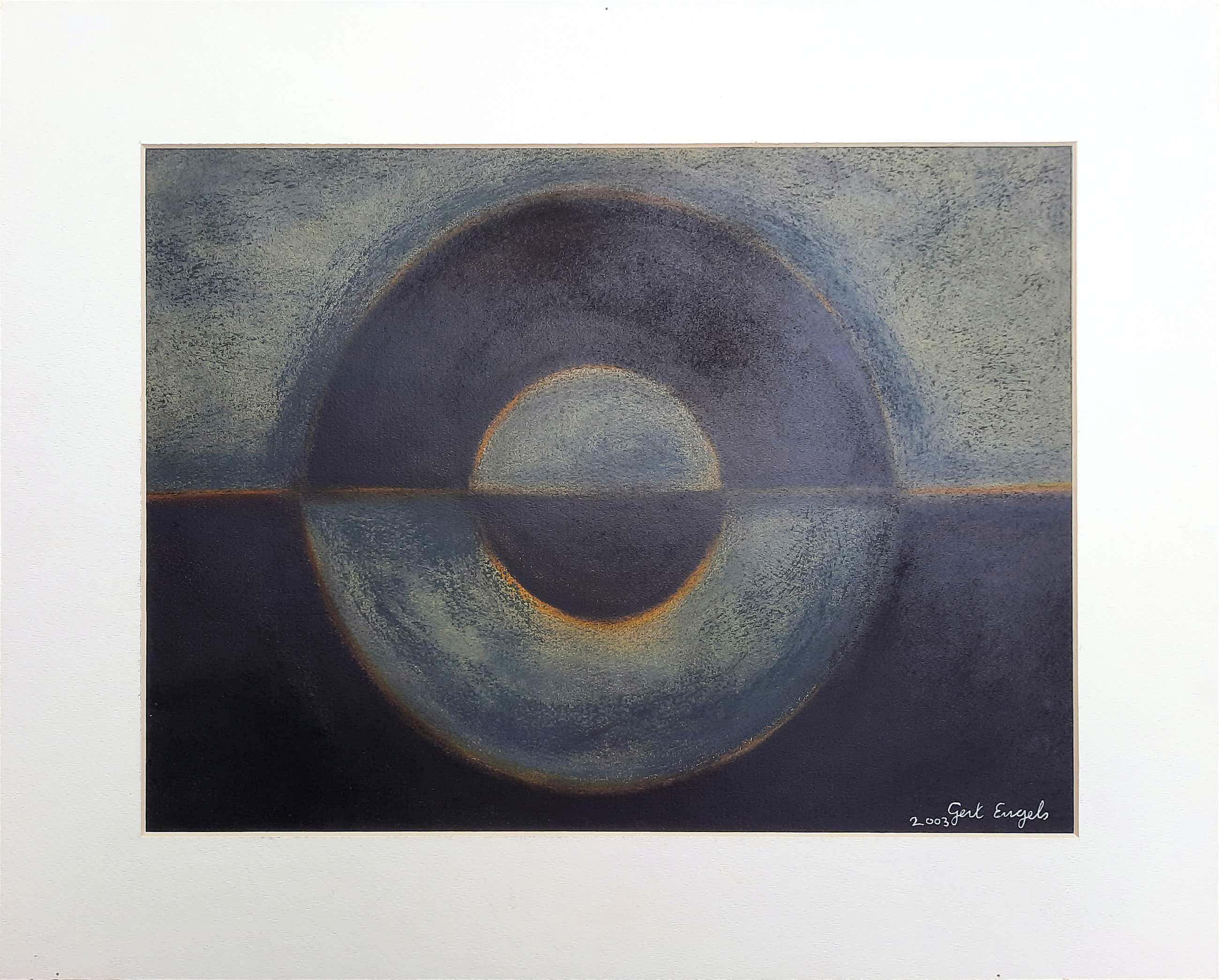 Gert Engels - Zonder titel – origineel schilderij uit 2003 kopen? Bied vanaf 75!