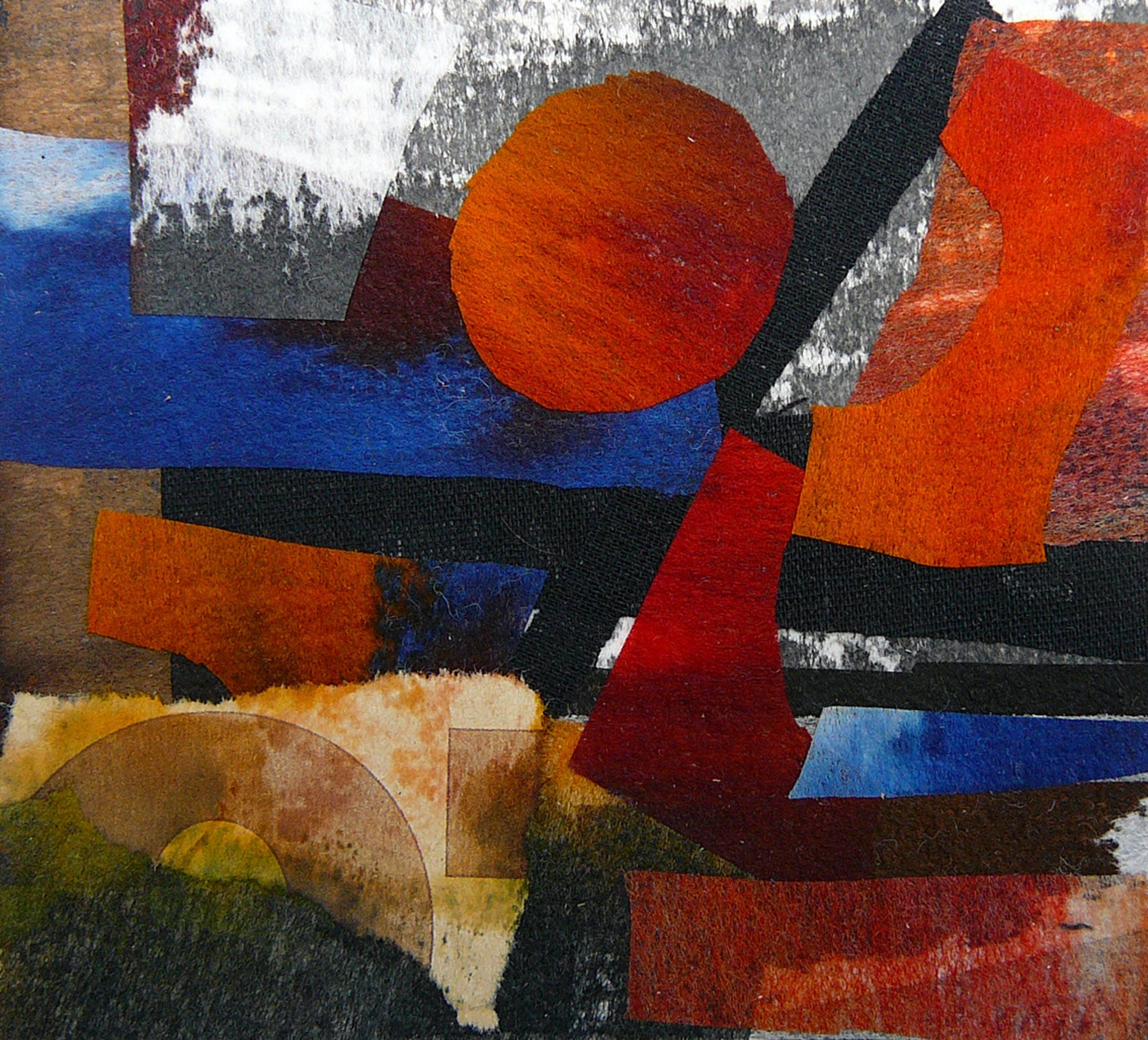 Jan Loman - Geen titel -vlieseline collage- kopen? Bied vanaf 75!