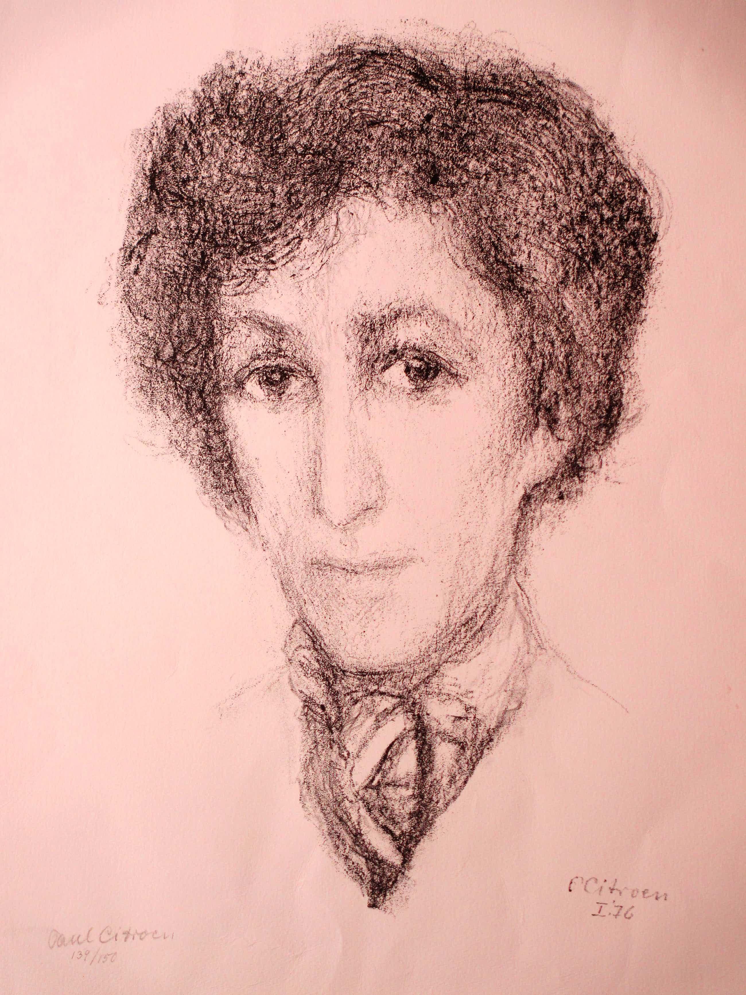 Paul Citroen - Portret van een Joodse vrouw - Litho kopen? Bied vanaf 50!