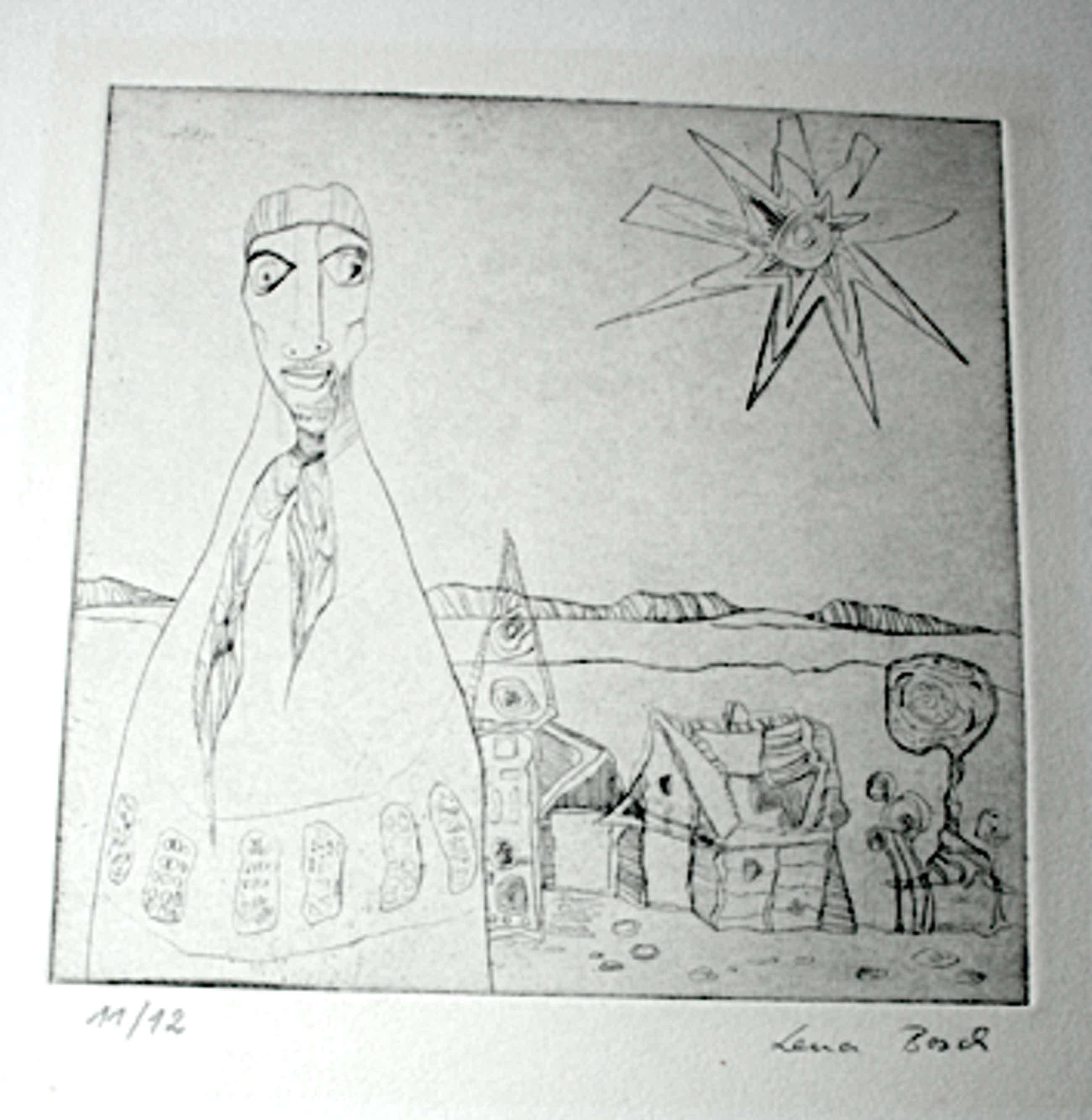 Lena Bosch - Expressionistisch kopen? Bied vanaf 50!