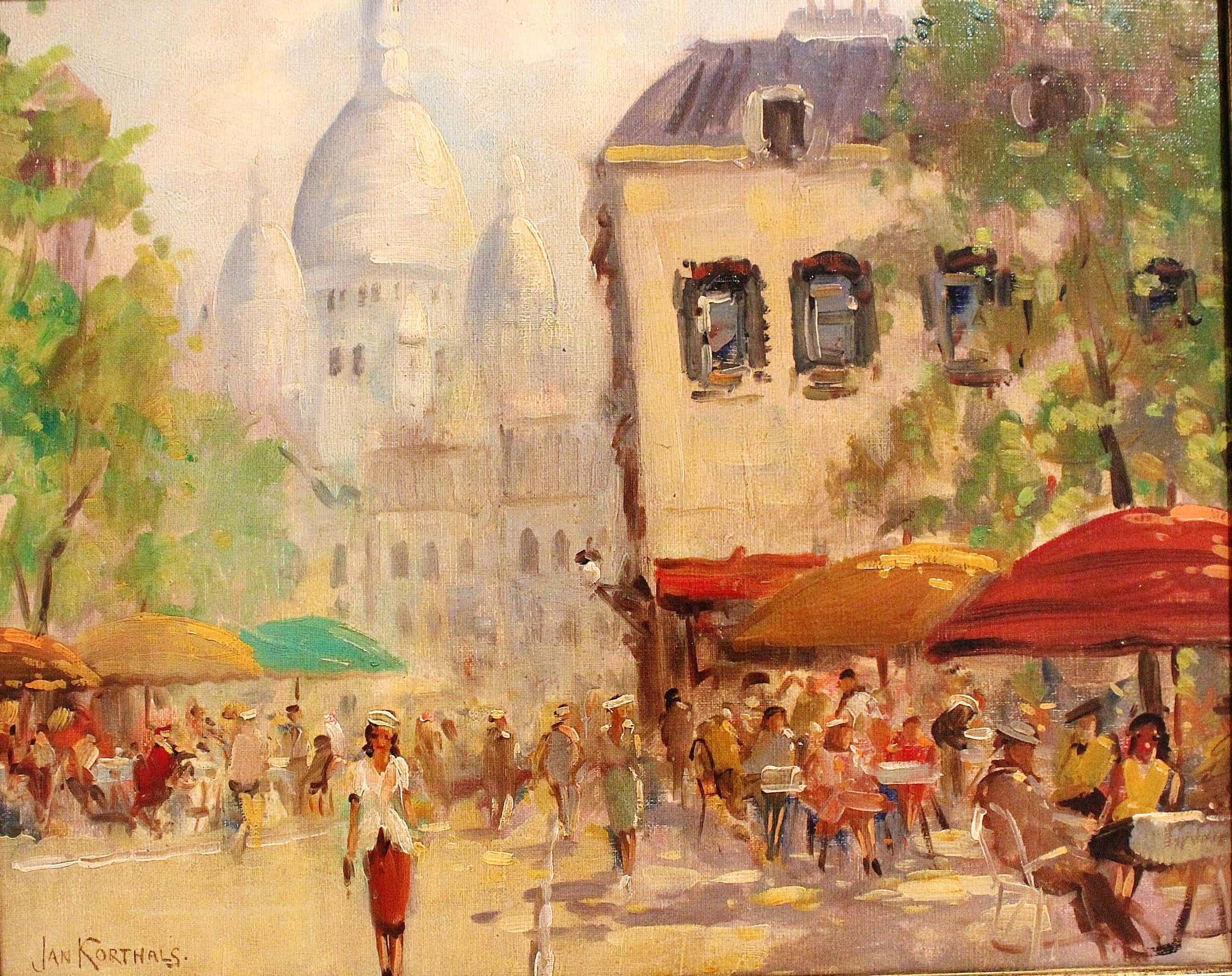 Jan Korthals - Zomers terras in Parijs kopen? Bied vanaf 400!