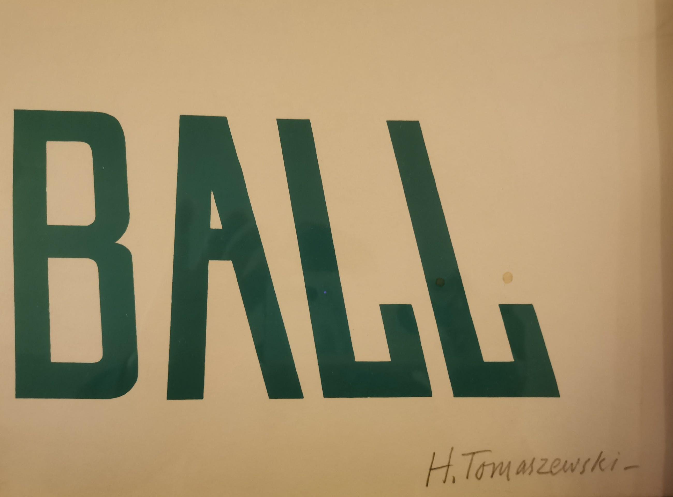 Henryk Tomaszewski - foot ball kopen? Bied vanaf 145!