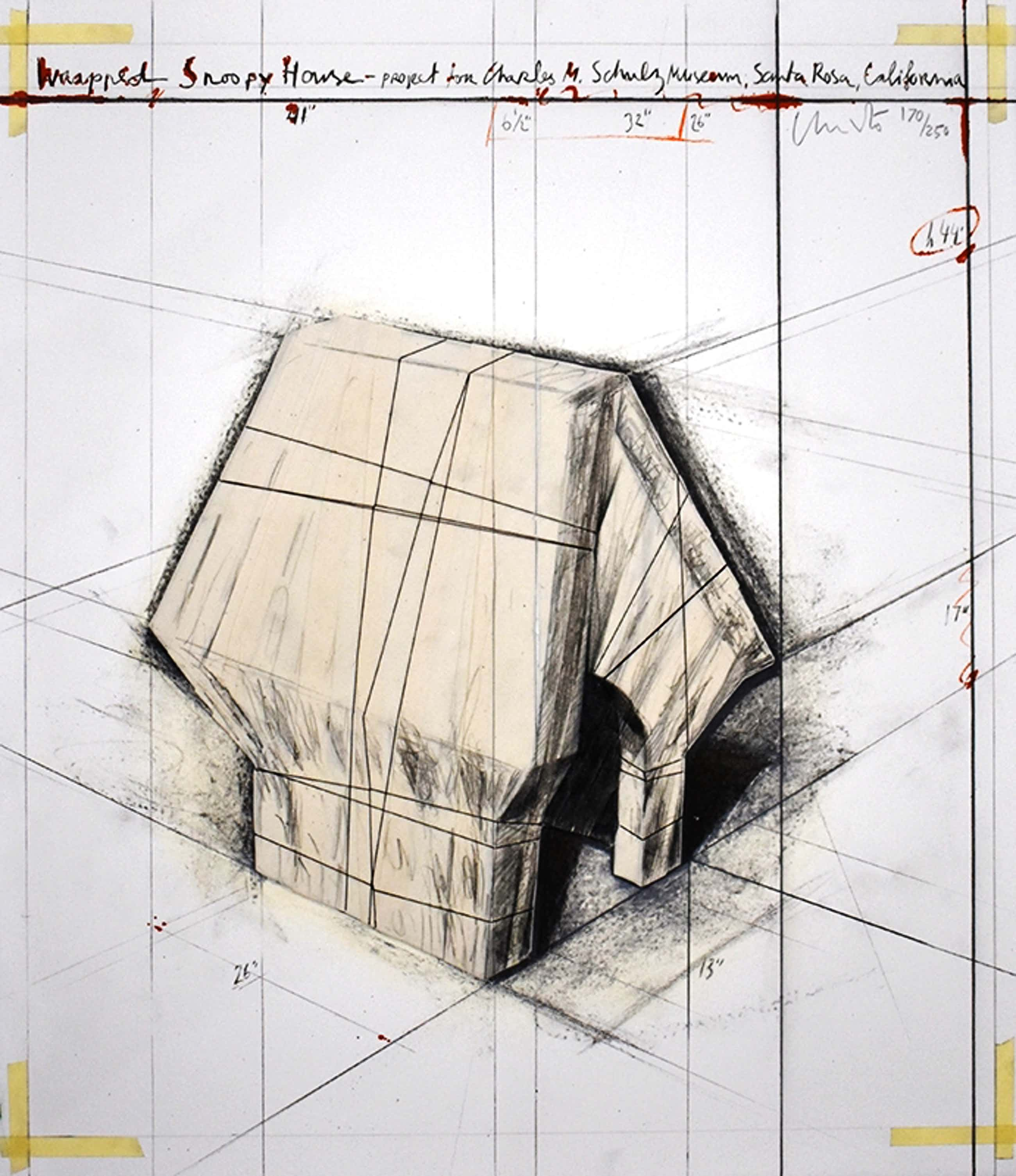 Christo - Wrapped Snoopy House kopen? Bied vanaf 12000!
