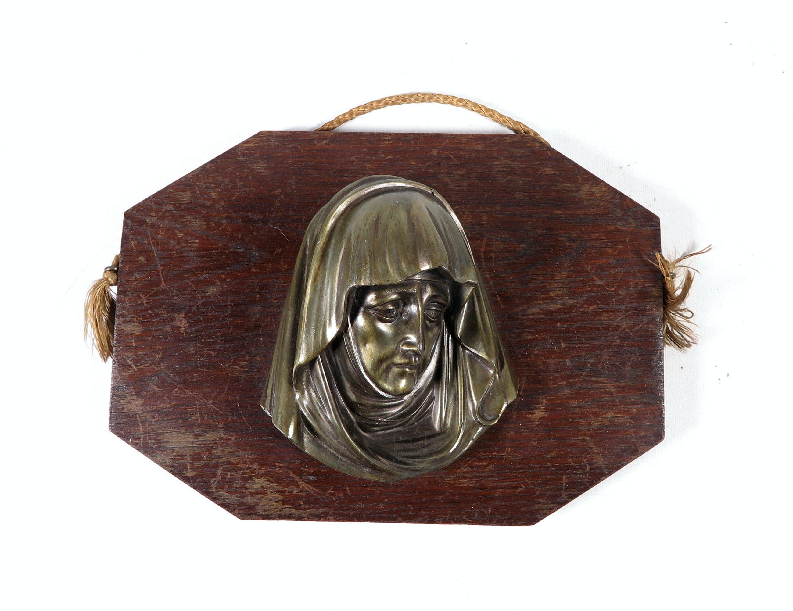 Heiligenbeeld - Metaal, Lot van twee Maria's kopen? Bied vanaf 1!