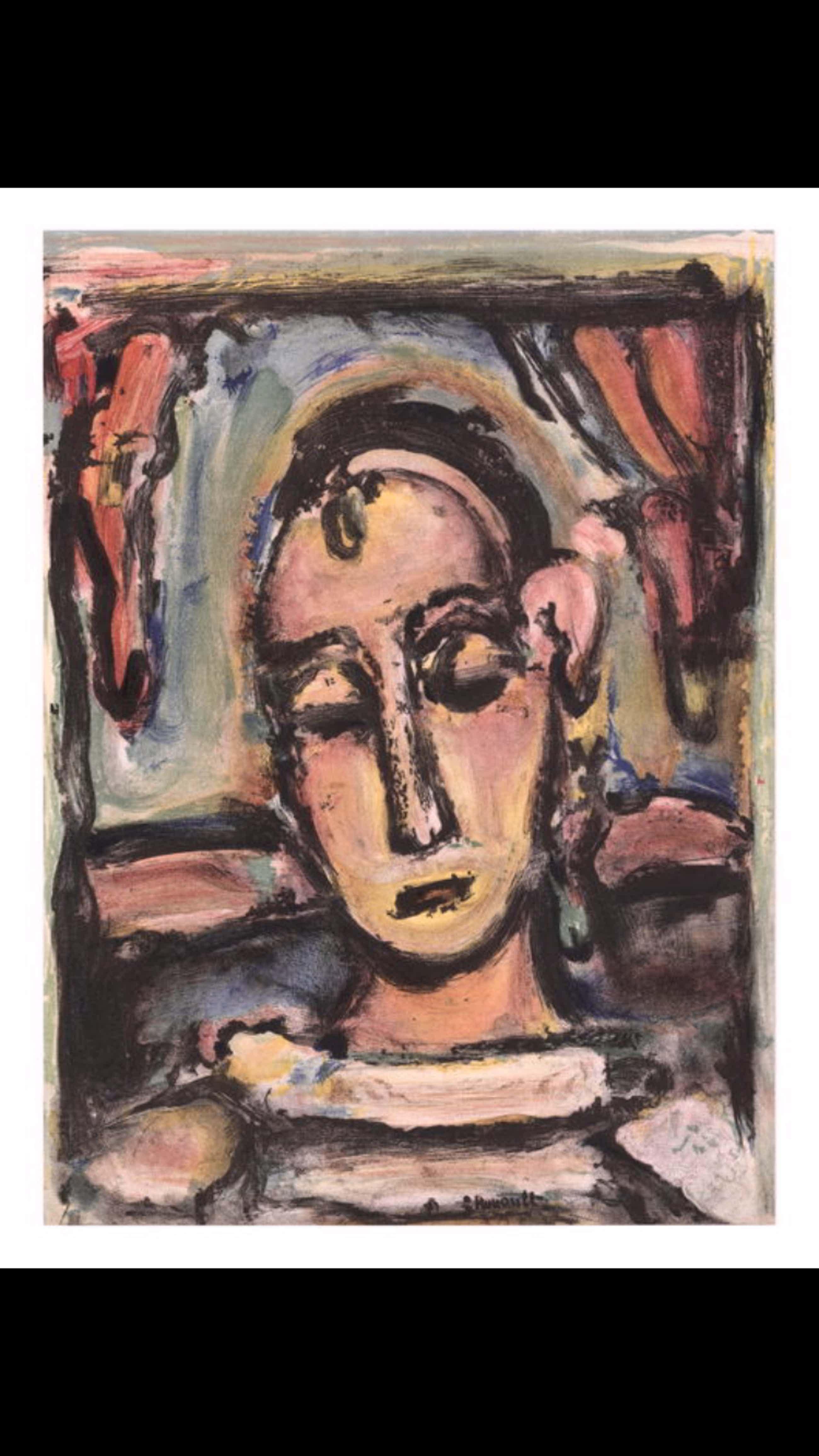 Georges Rouault - (1871-1958) - Tête de jeune fille kopen? Bied vanaf 75!