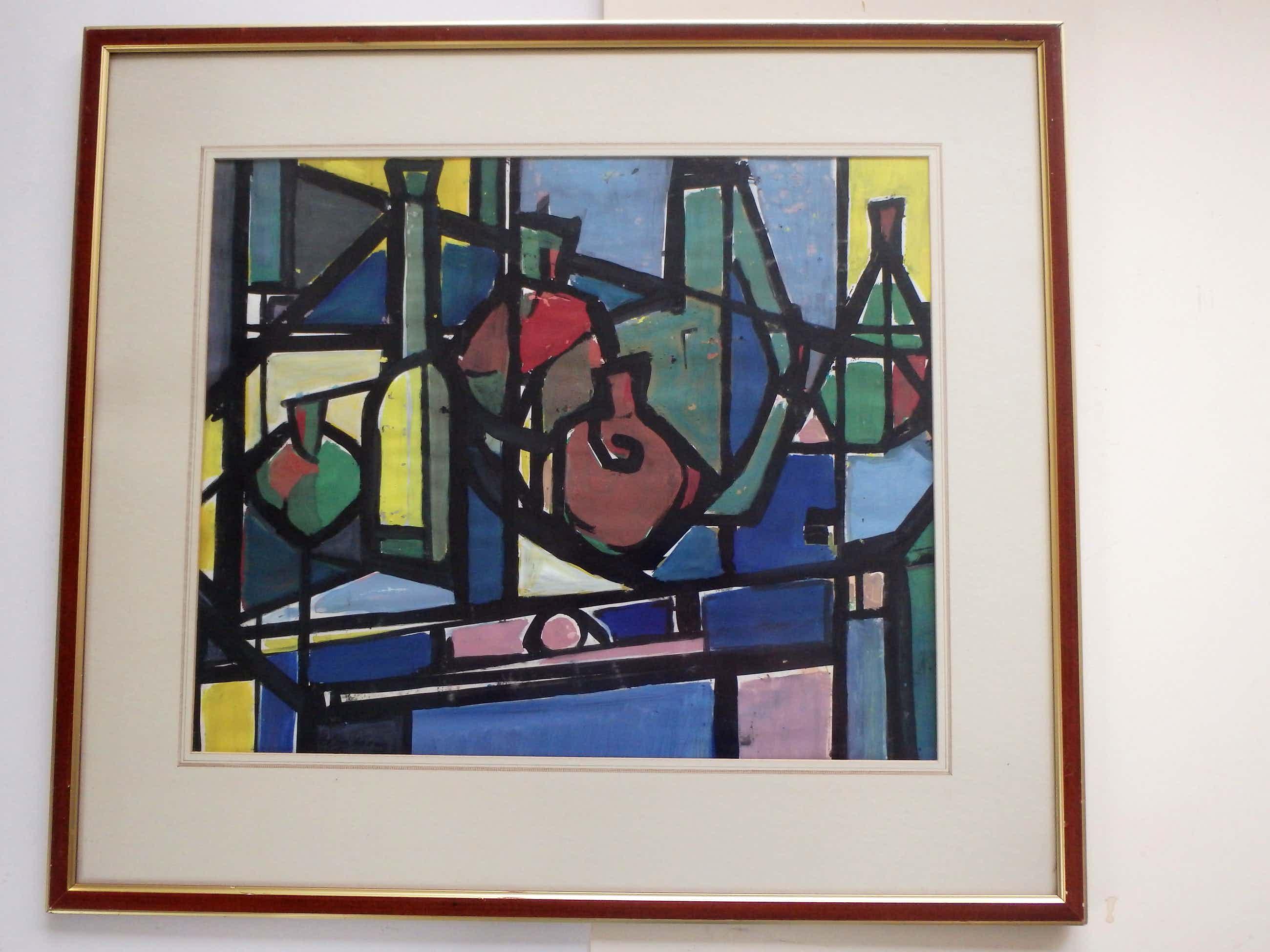 Harry de Jager - Stilleven kubisme kopen? Bied vanaf 95!