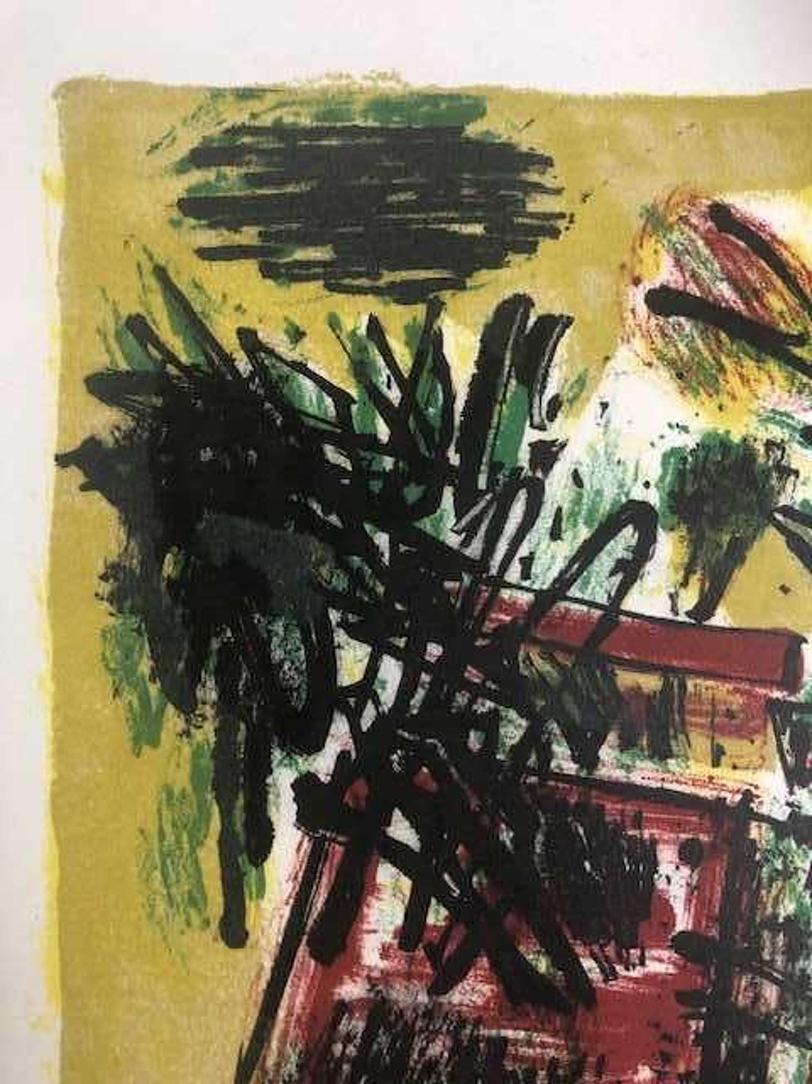 Corneille - Vol d'oiseux au printemps - 1960 kopen? Bied vanaf 350!