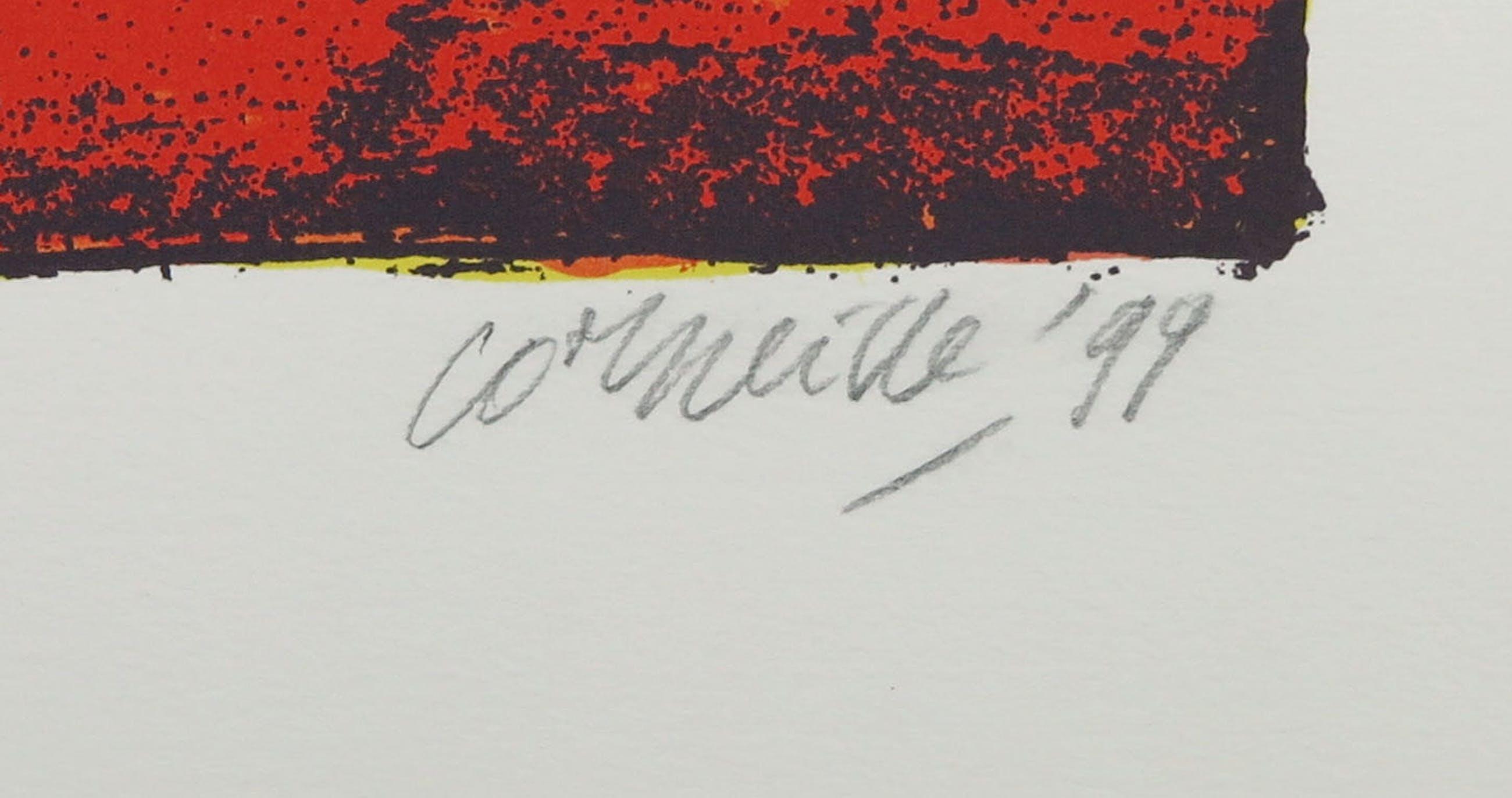Corneille - Zeefdruk, Une belle journée kopen? Bied vanaf 1!