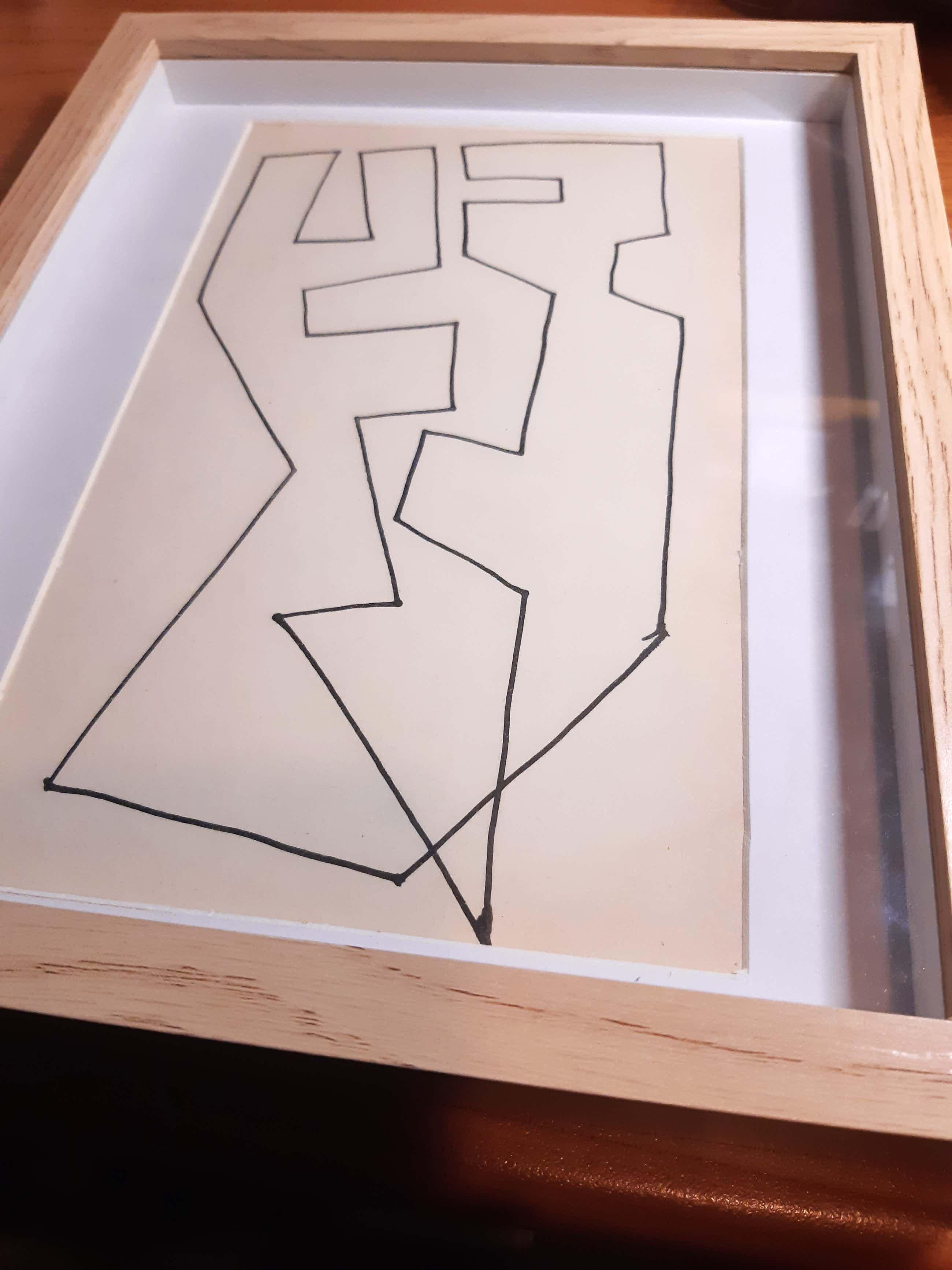 Siep van den Berg - Abstracte compositie kopen? Bied vanaf 81!