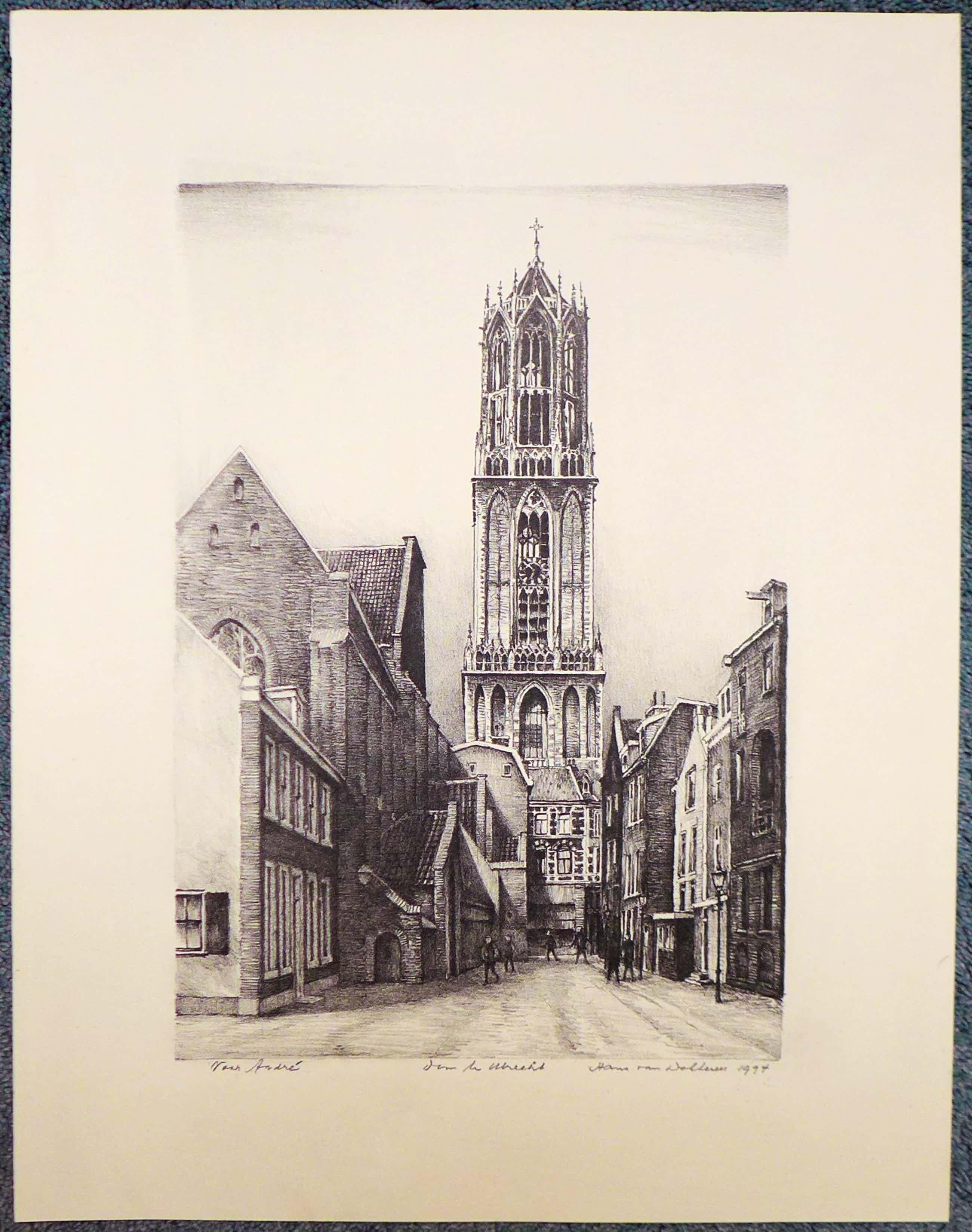 Hans van Dokkum - Dom te Utrecht kopen? Bied vanaf 75!