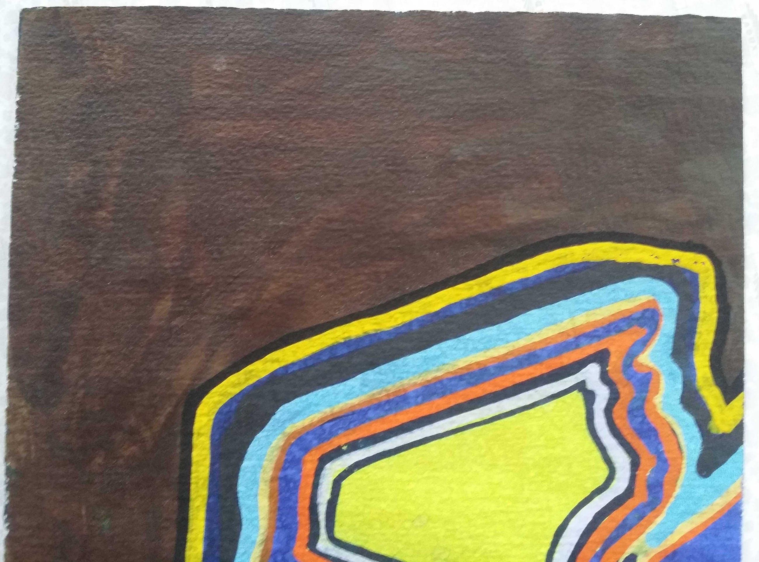 Hans ter Braake - Kleurrijk abstract. kopen? Bied vanaf 1!
