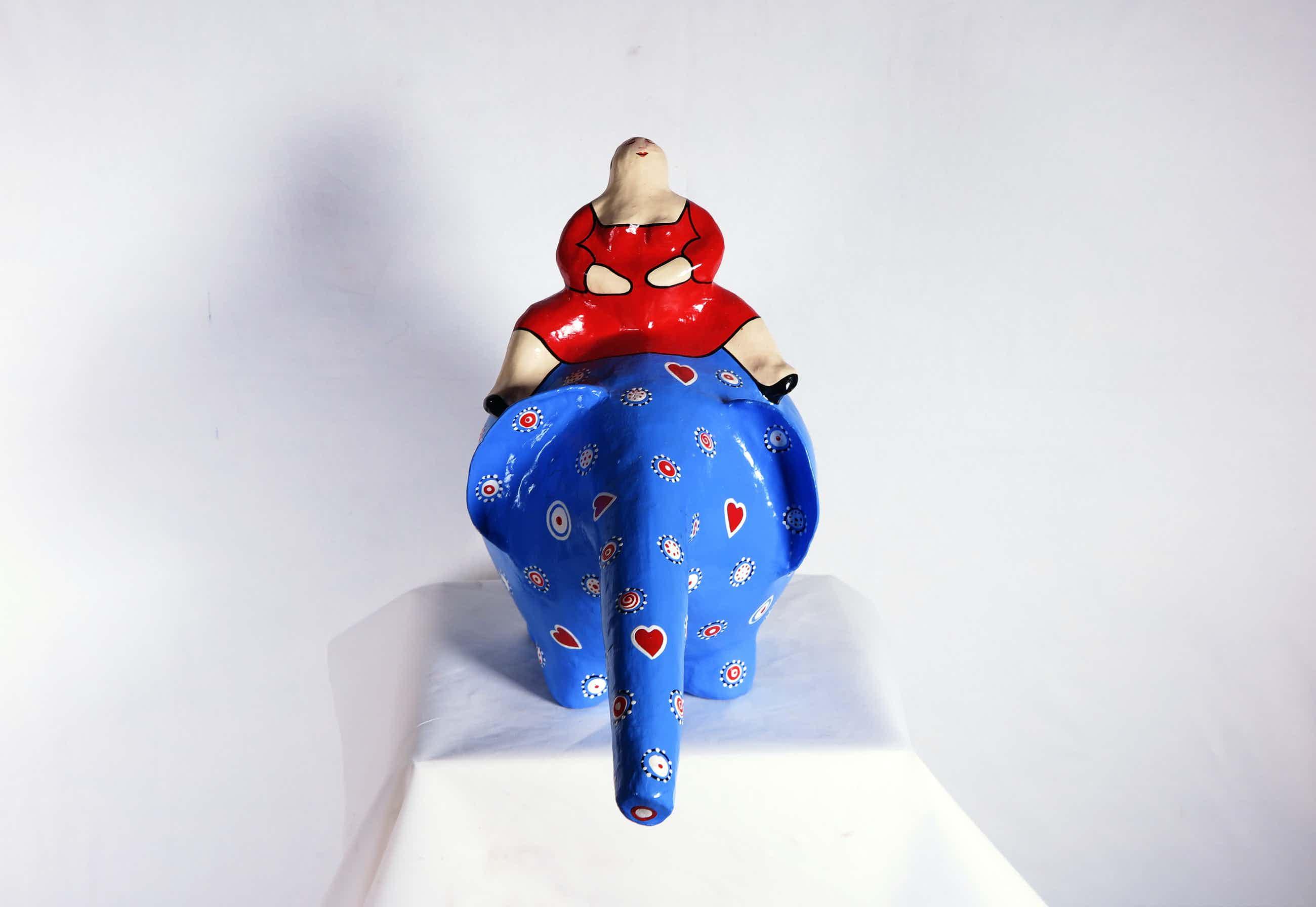 Ada Breedveld - Blauwe olifant kopen? Bied vanaf 50!