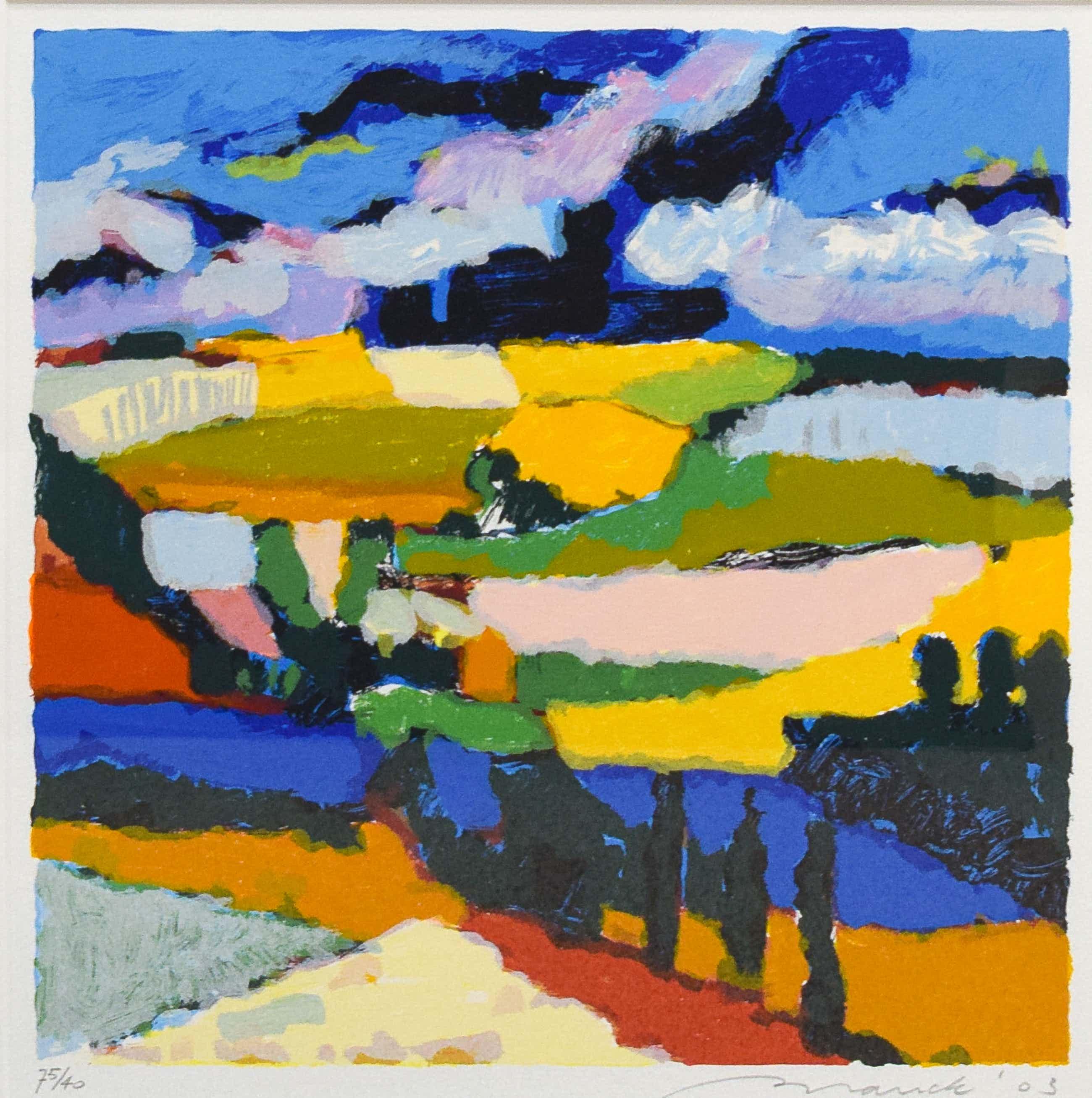 Willem Brauck - Paysage Provence I kopen? Bied vanaf 50!