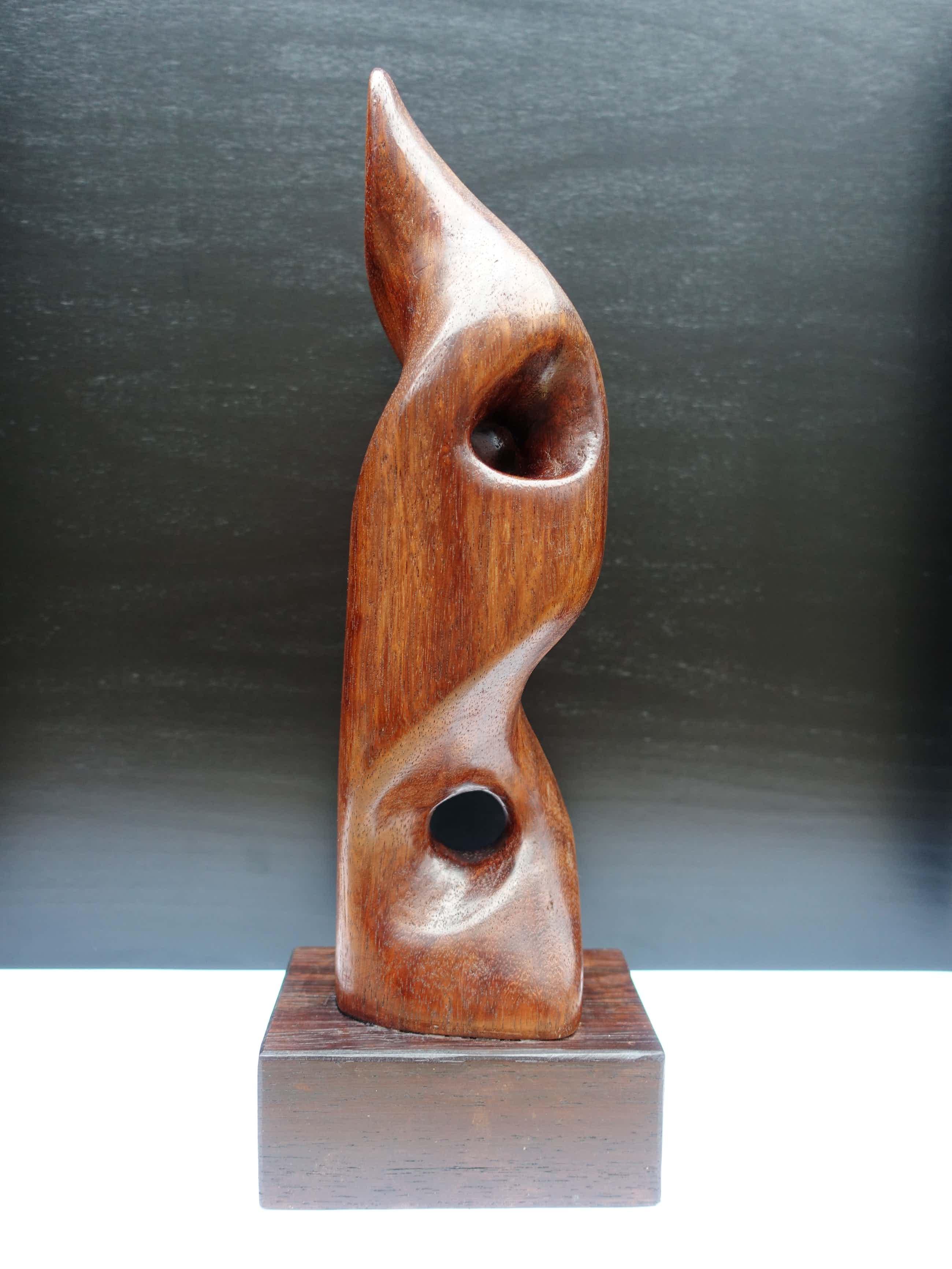 Dolf Breetvelt - Abstracte compositie in hout kopen? Bied vanaf 579!