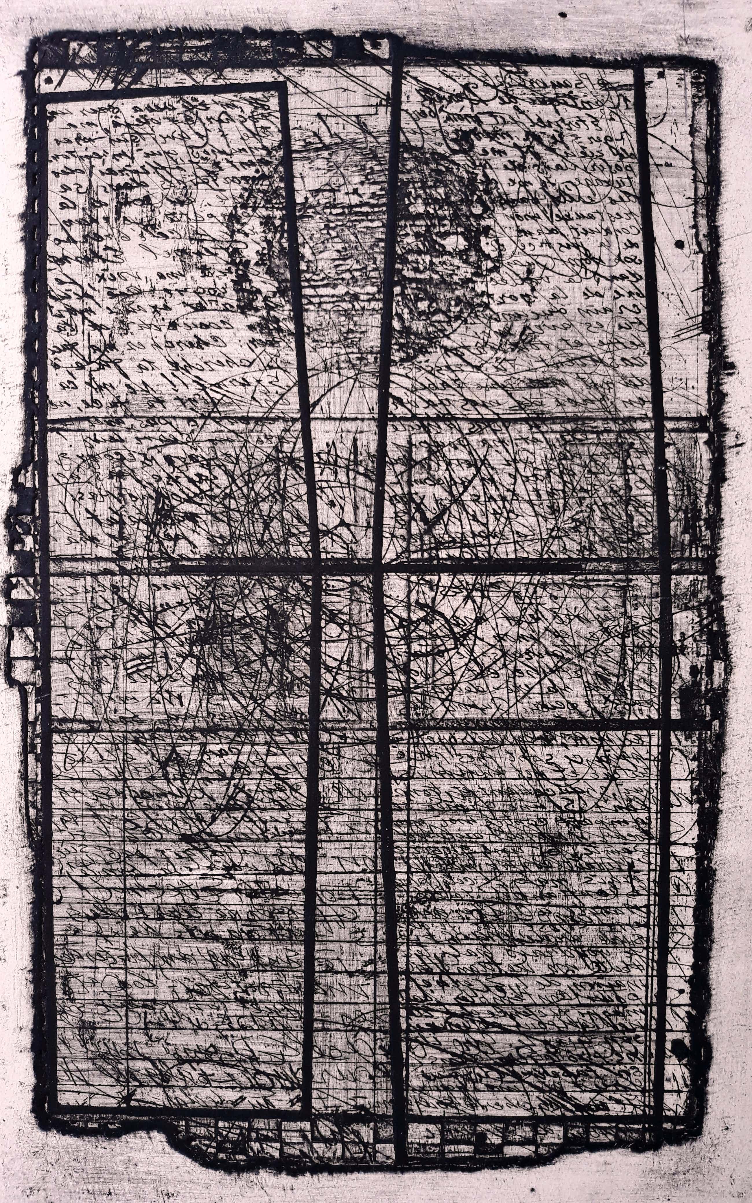 Ko Oosterkerk - Het boek der Psalmen, aquatint ets (4e staat, unica!) kopen? Bied vanaf 60!