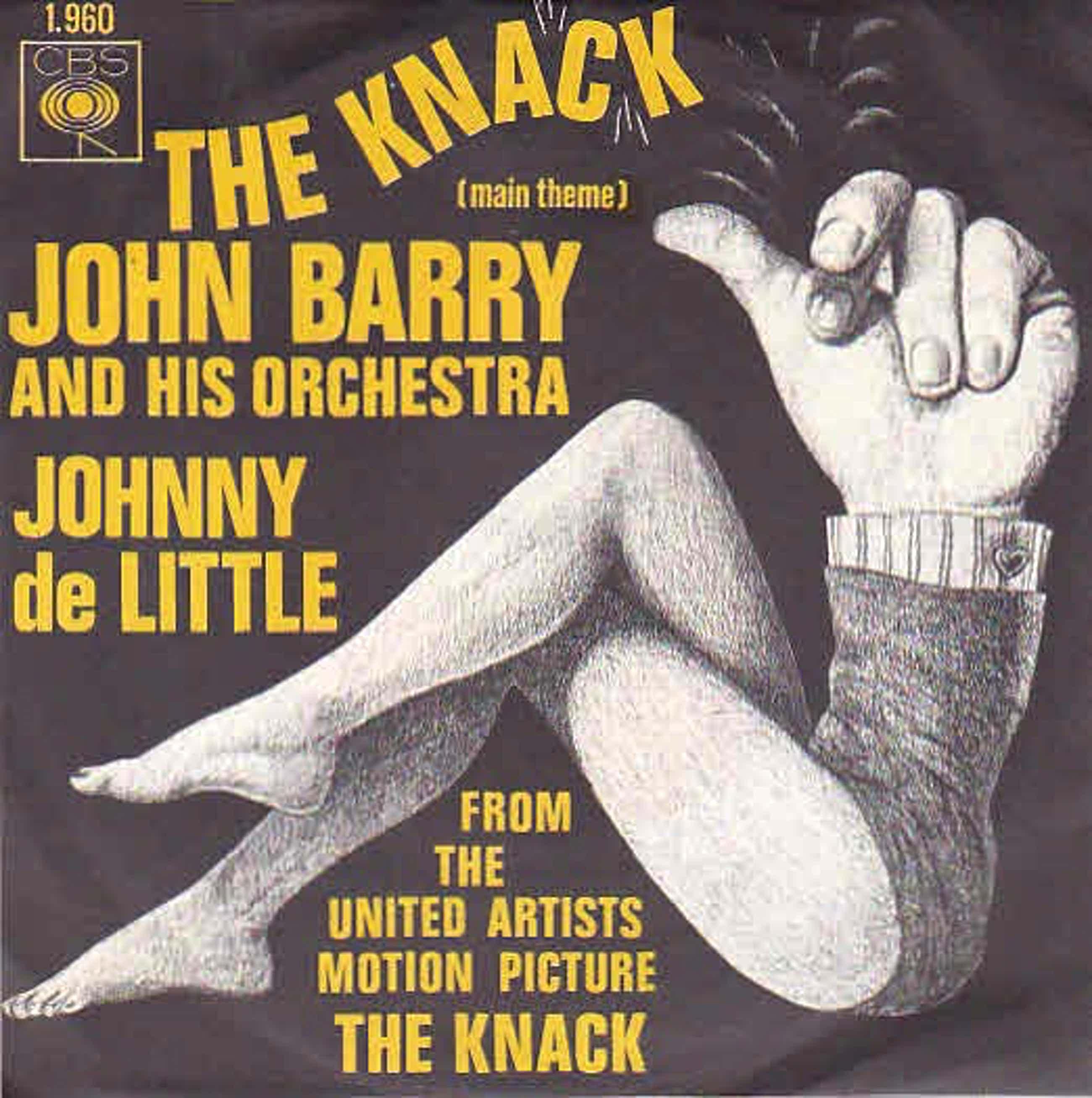 John Barry - Lot van 2 singles: The Knack, A man Alone kopen? Bied vanaf 10!