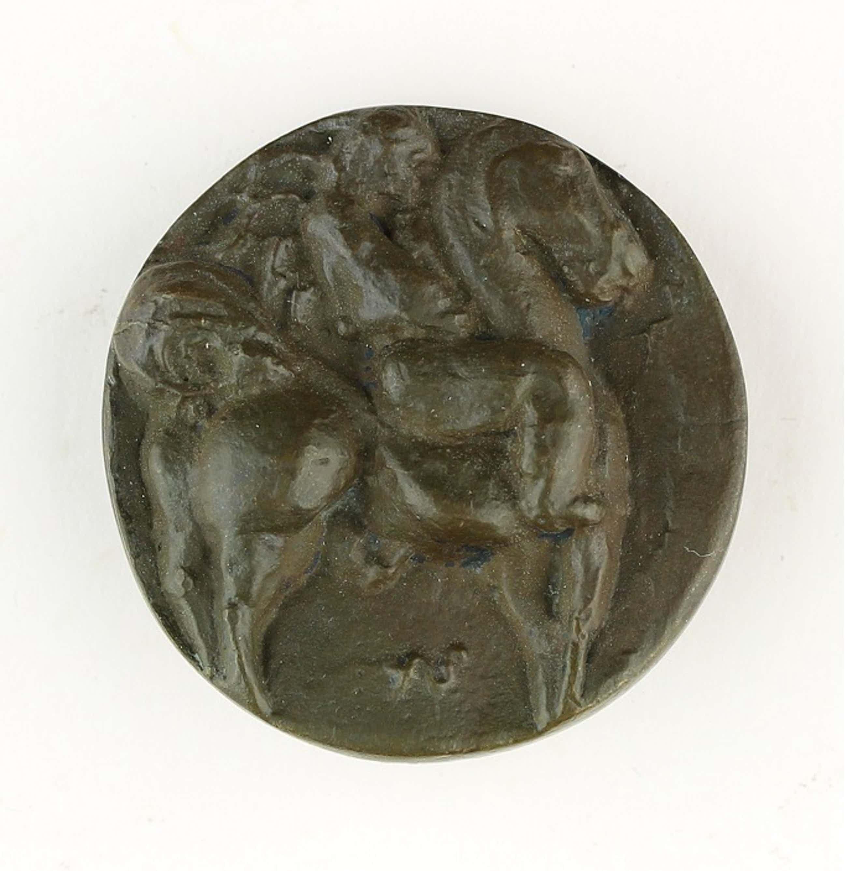 Arthur Spronken - Bronzen penning: Ruiter te Paard, 1967 kopen? Bied vanaf 135!
