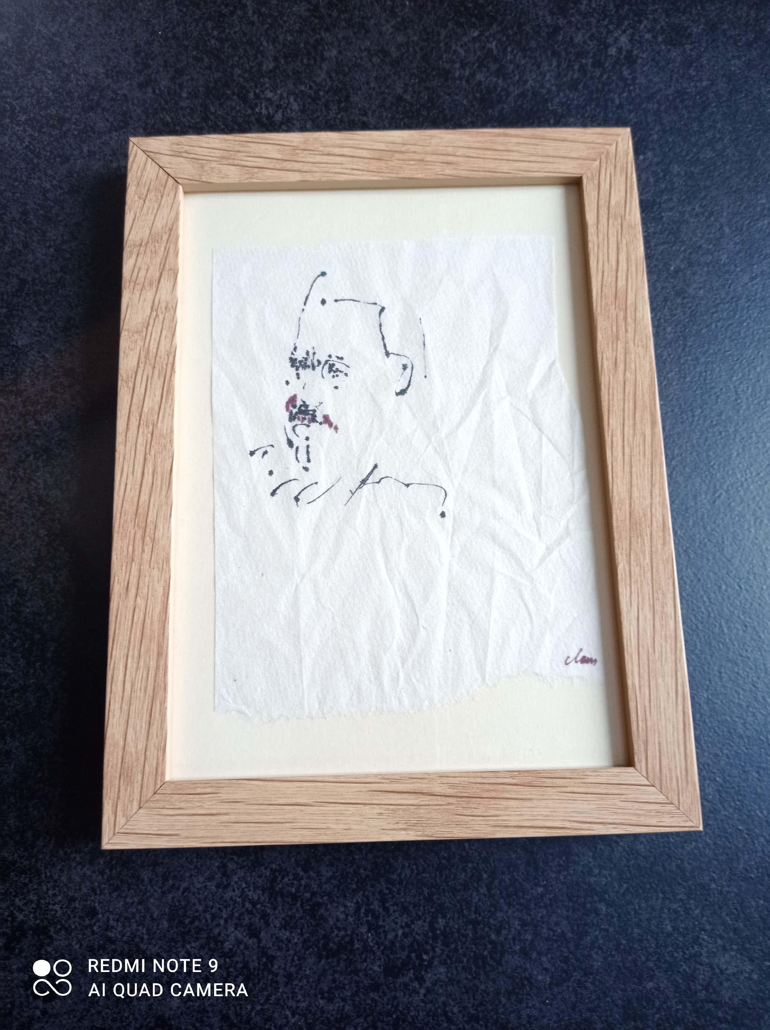 Hugo Claus - Originele tekening kopen? Bied vanaf 400!