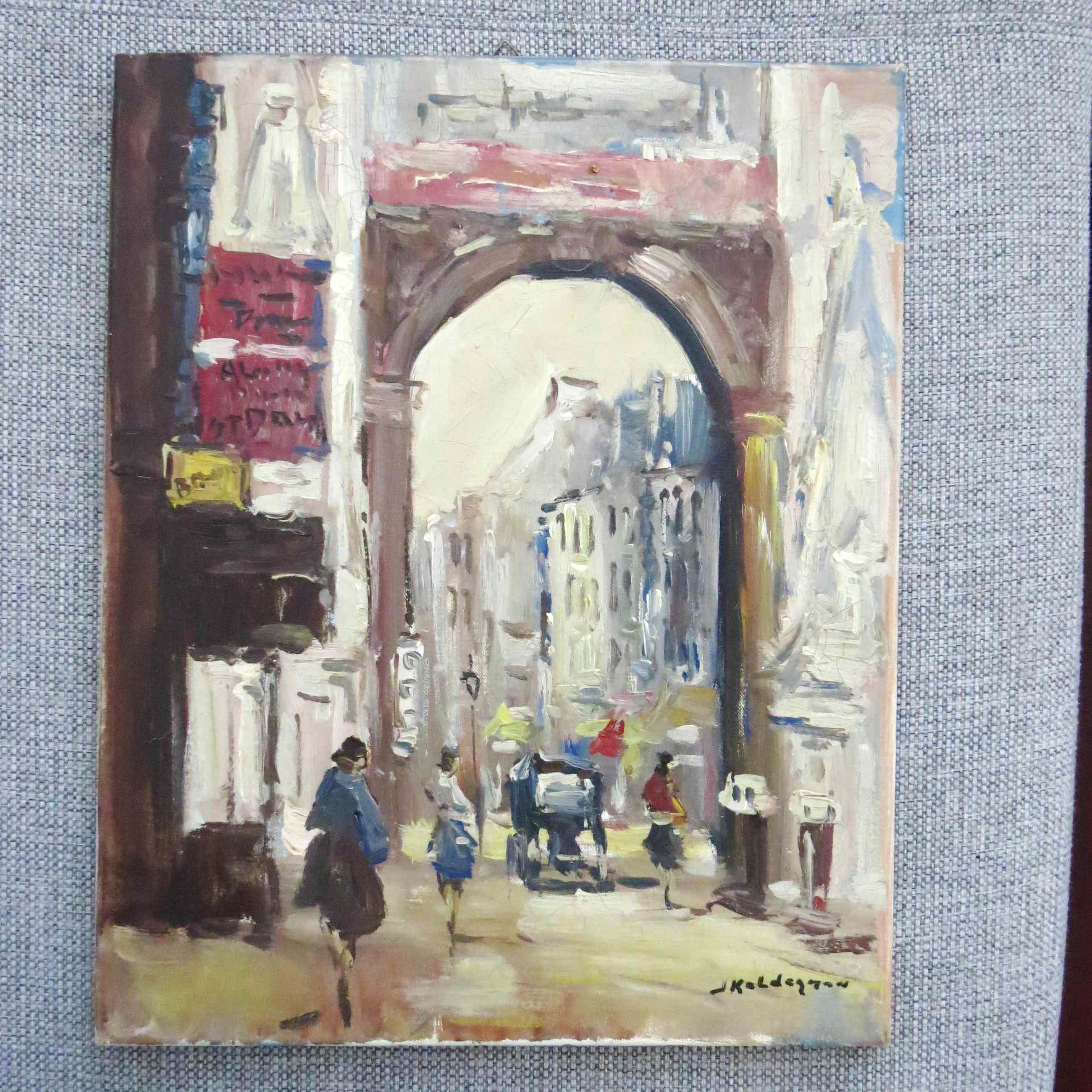 Jan Kelderman - Rue Saint Denis Paris kopen? Bied vanaf 70!