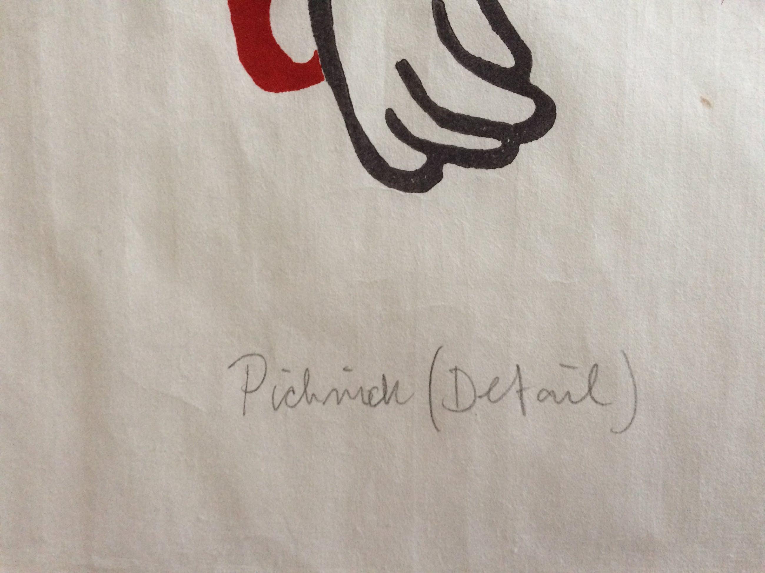 Ad Gerritsen - Picknick (detail) kopen? Bied vanaf 50!