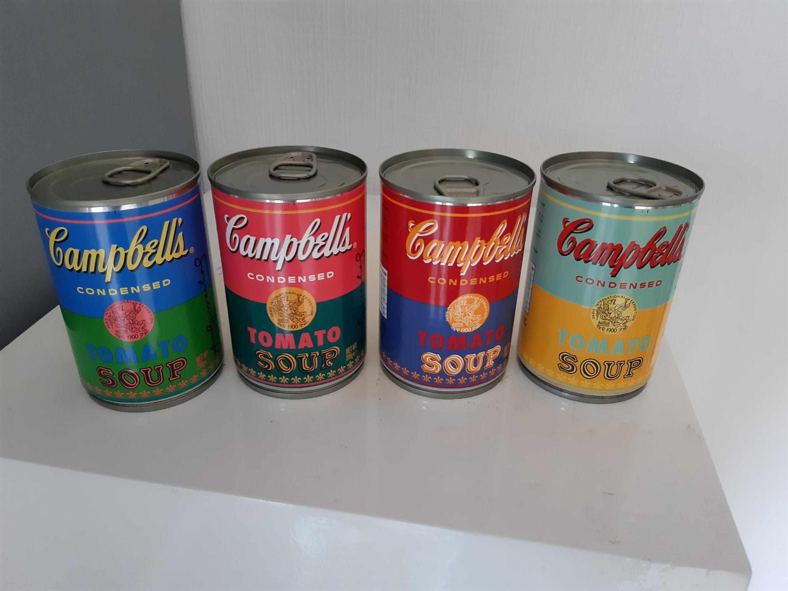 Andy Warhol - 50th Anniversary Campbell's Tomato Soup Cans Limited Edition kopen? Bied vanaf 80!
