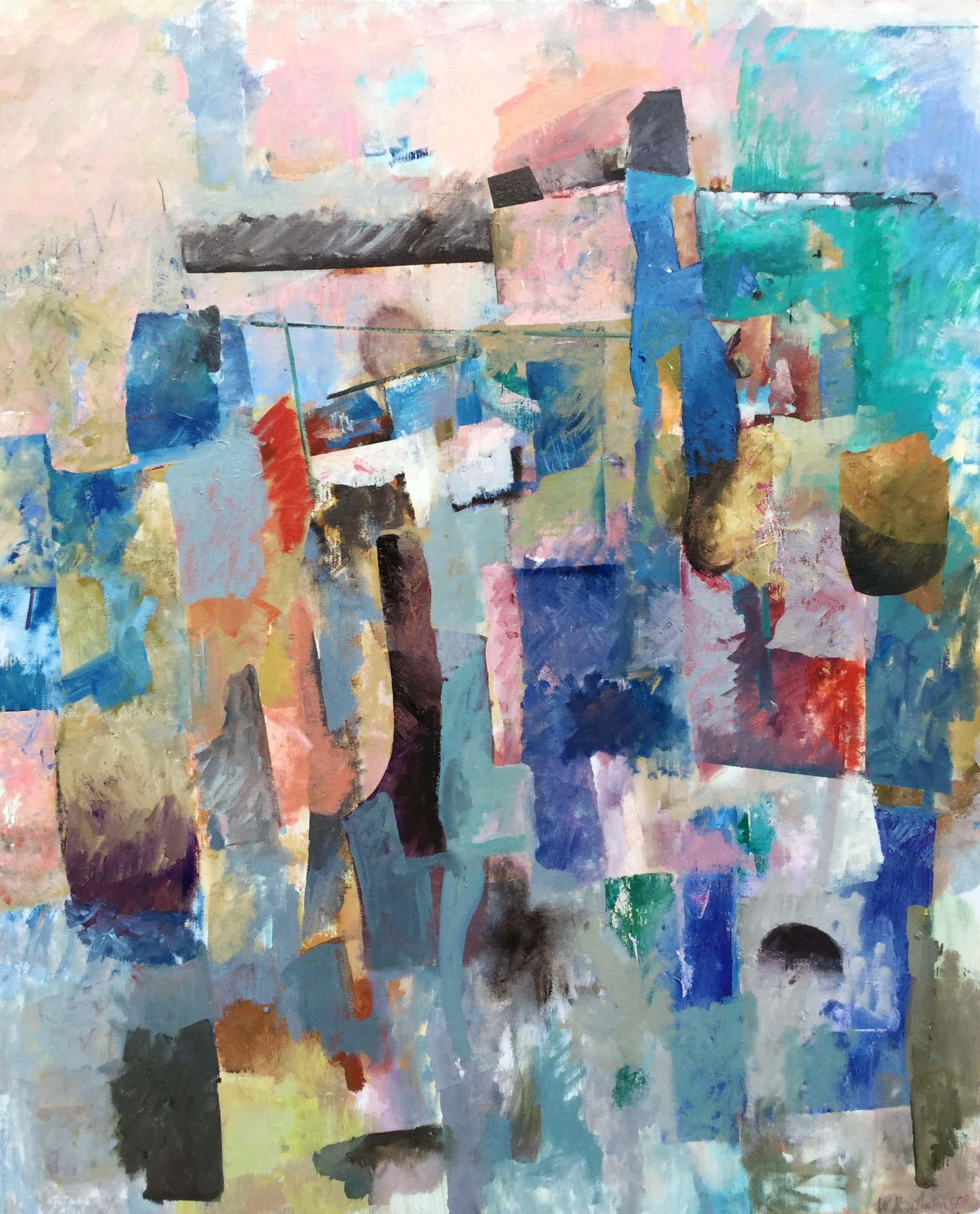 Wil Bouthoorn - C4304 - Abstracte compositie kopen? Bied vanaf 380!
