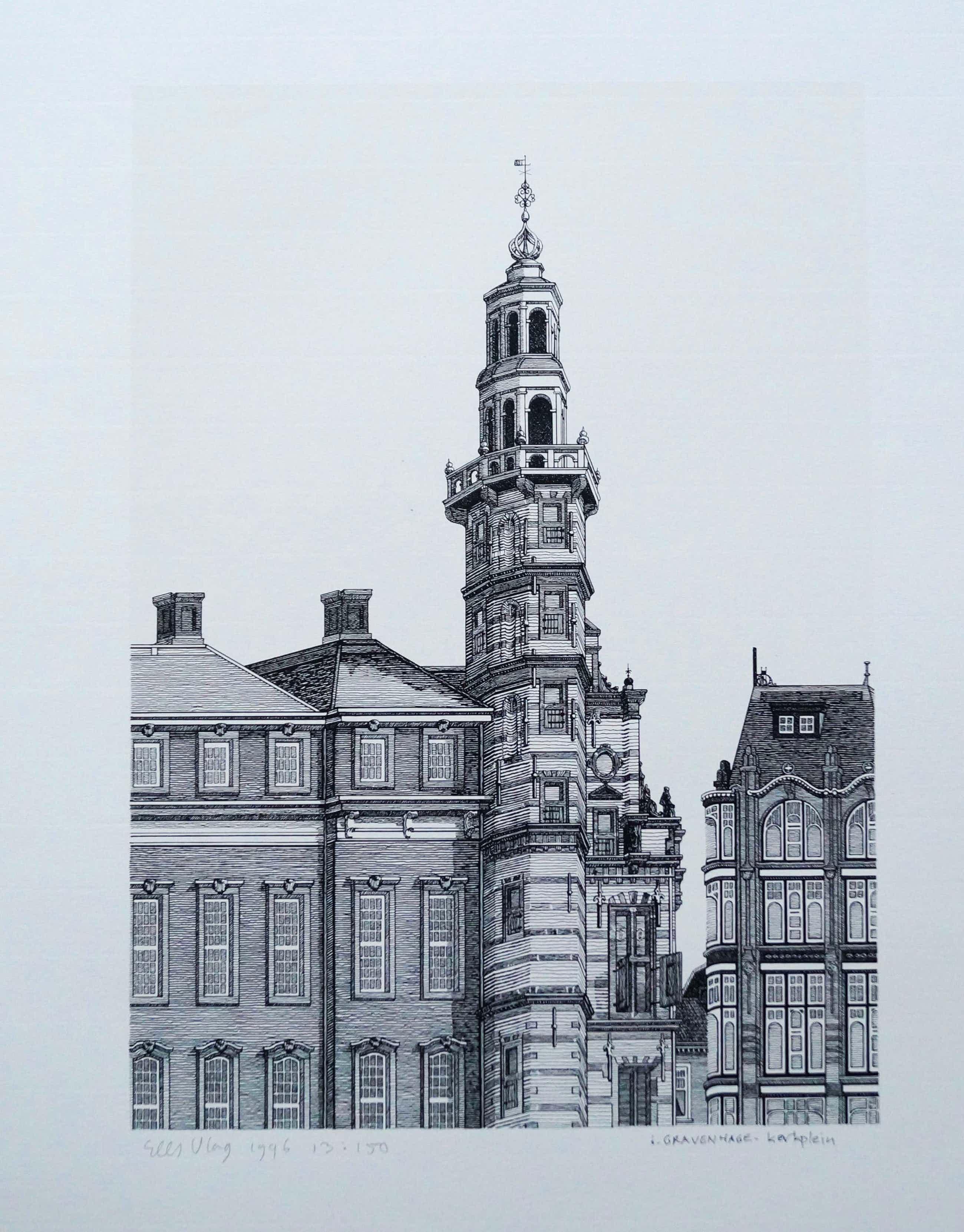 Sees Vlag - 's Gravenhage Kerkplein kopen? Bied vanaf 50!